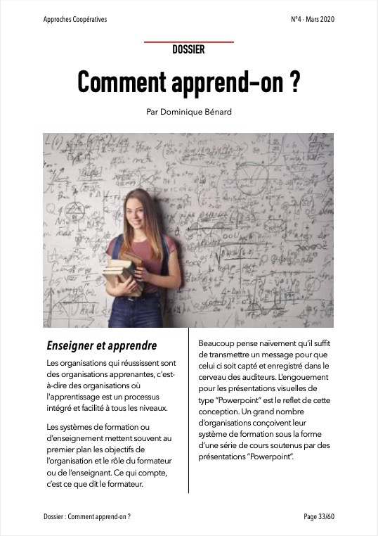 Approches Coopératives N° 4