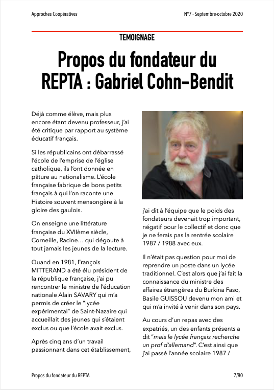 Approches Coopératives N° 7