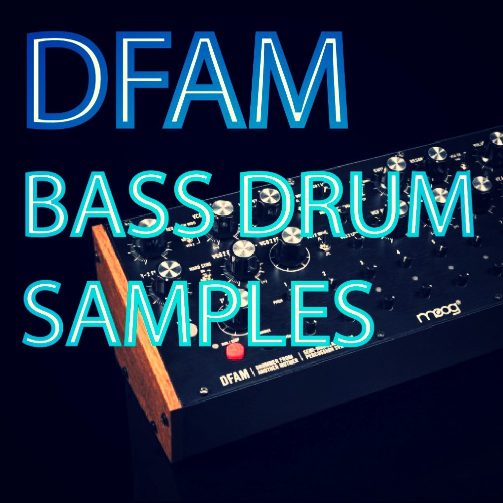 DFAM Bass Drum Samples