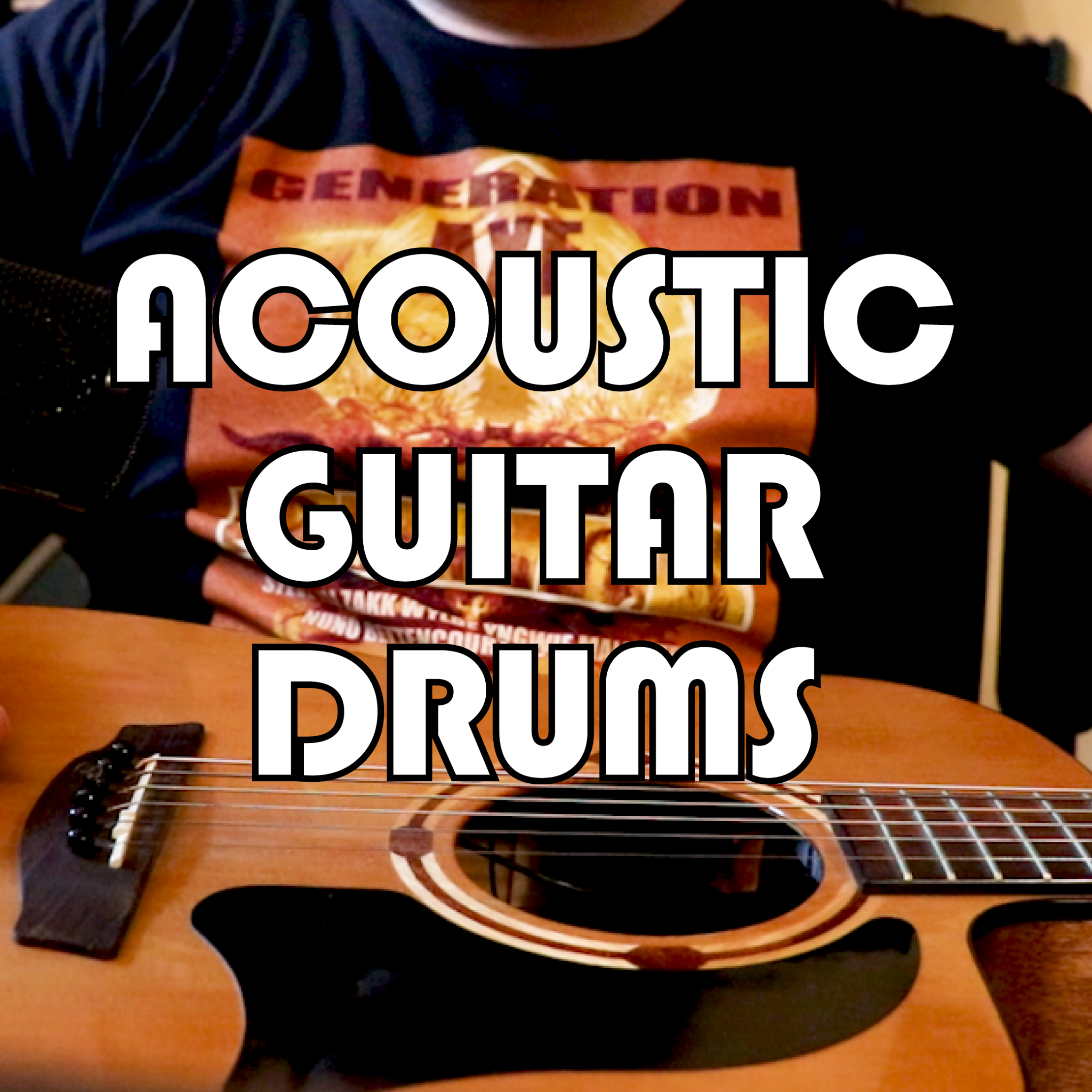 Acoustic Guitar Drums & C1 Library of Congress Sound Design