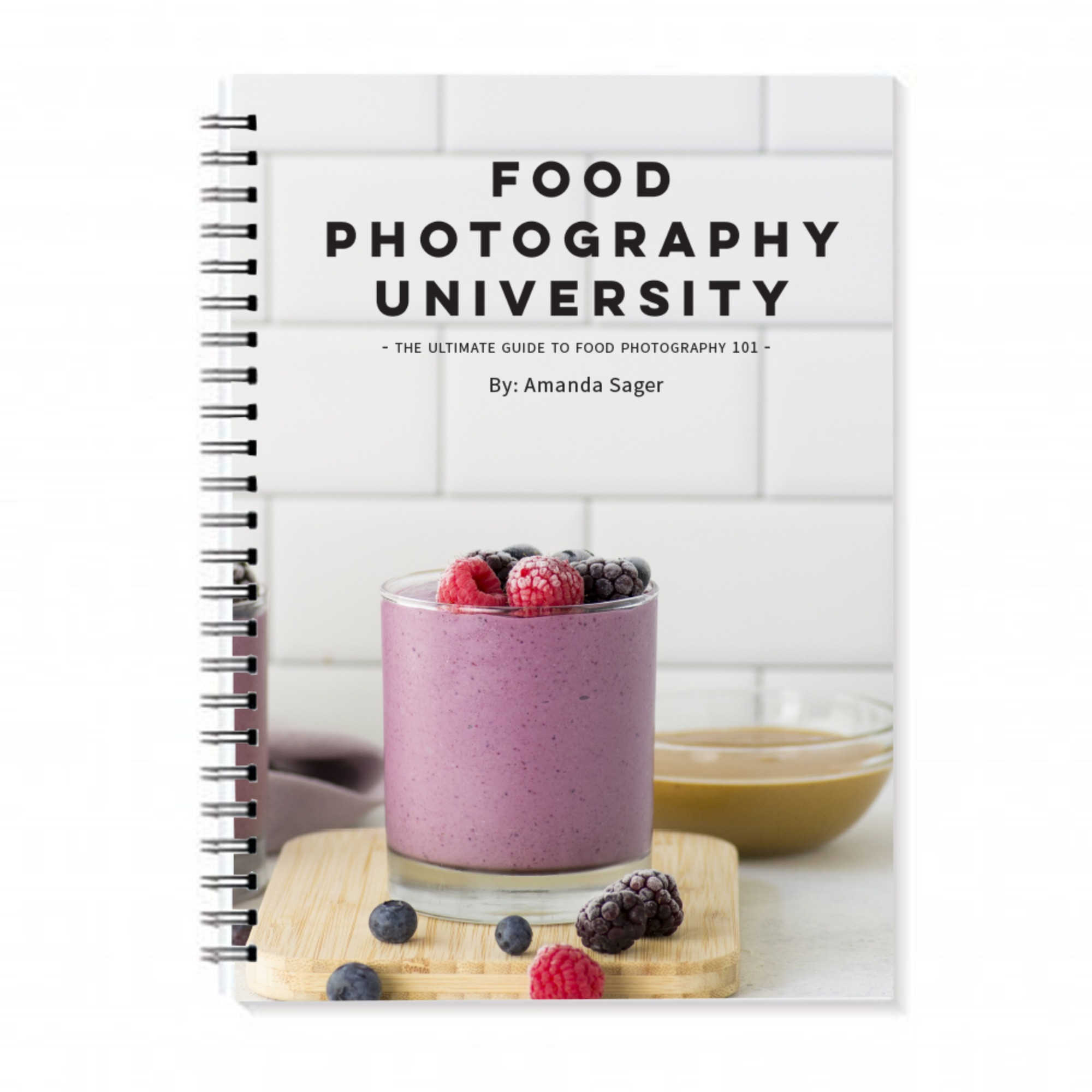 Food Photography University Book - Course