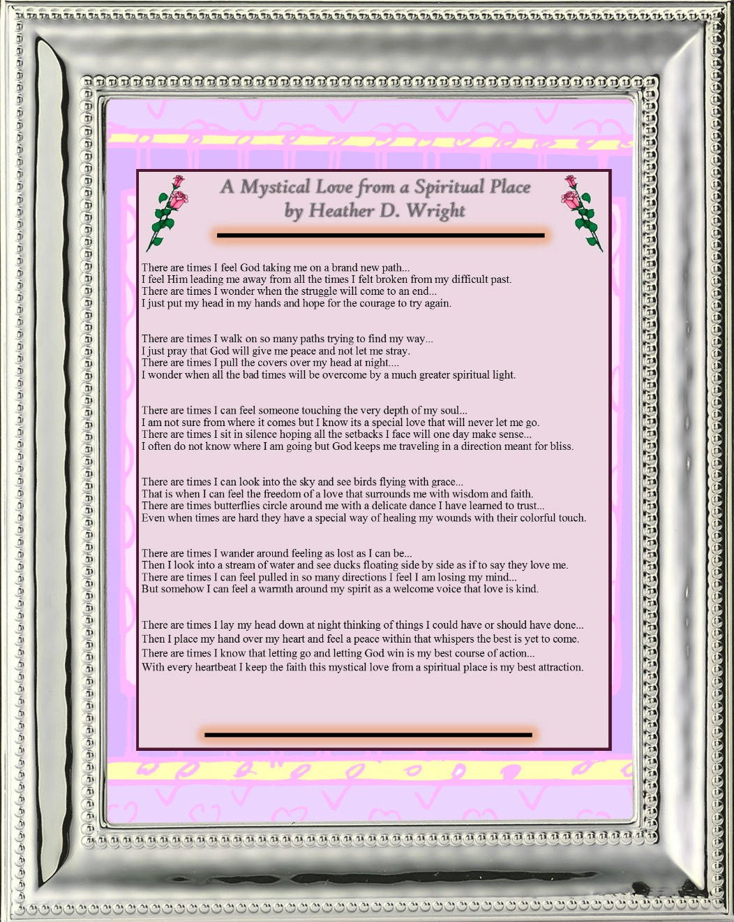 A Mystical Love from a Spiritual Place - Printable Digital Download