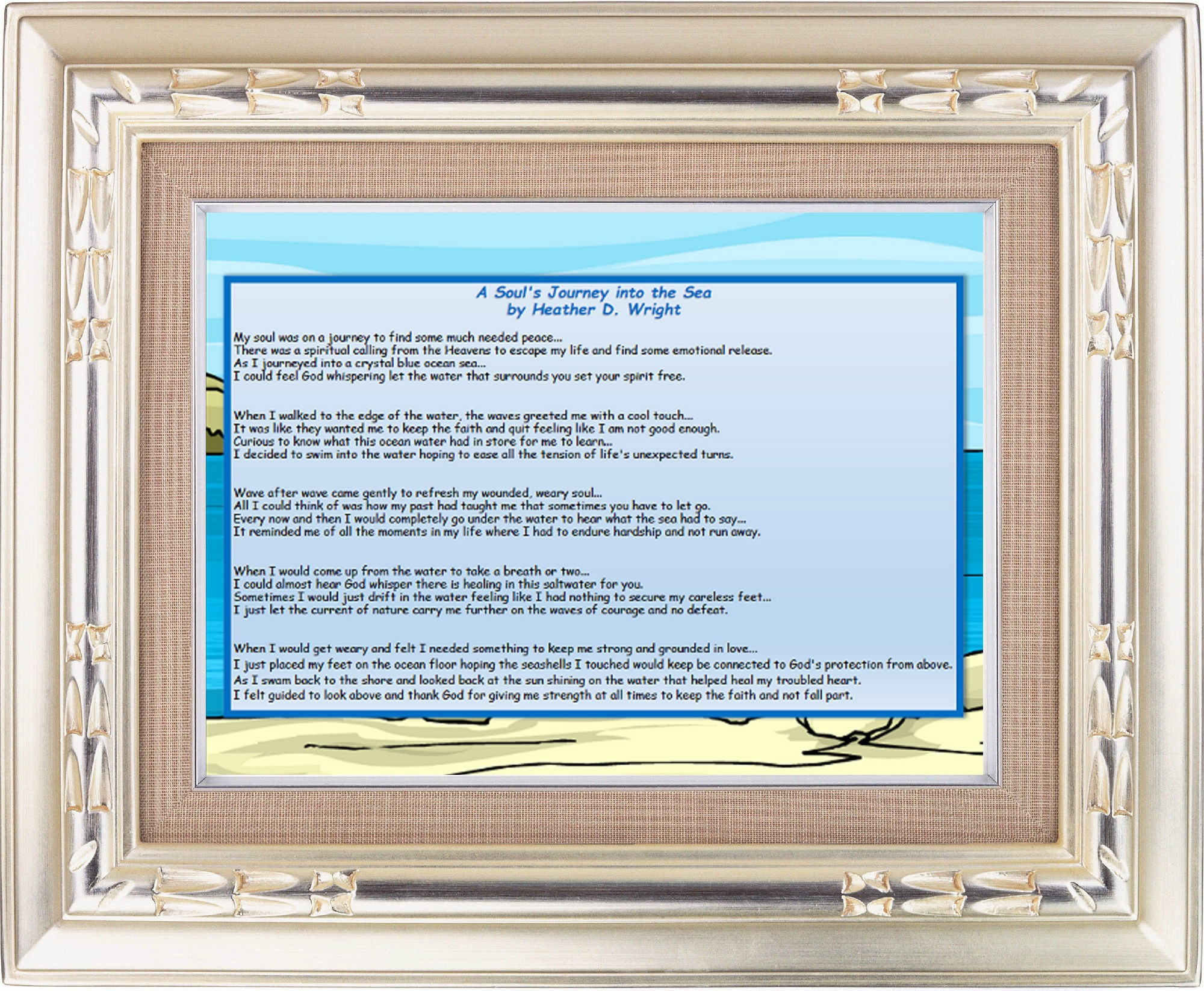 A Soul's Journey Into the Sea - Printable Digital Download