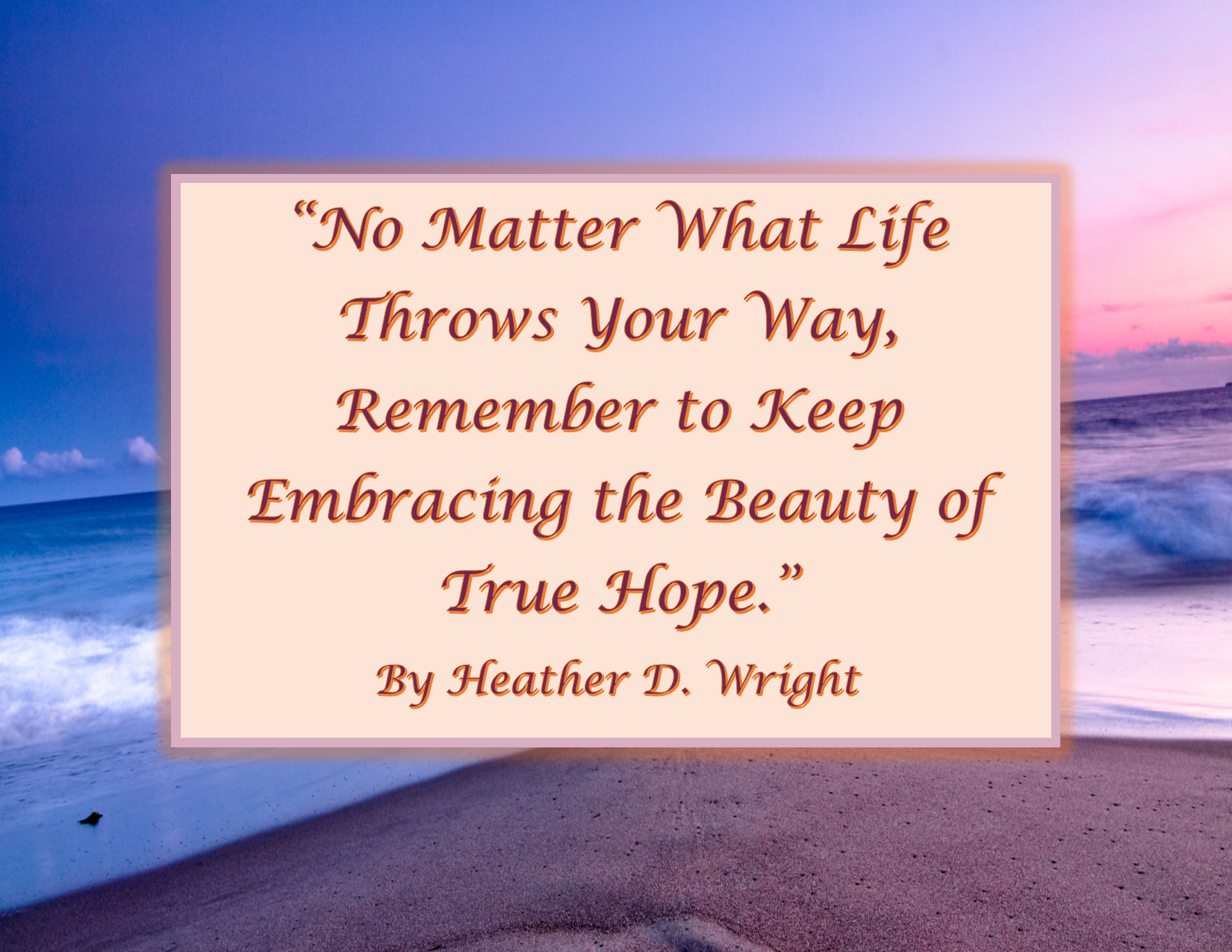 Quote on True Hope - Printable Quote Download