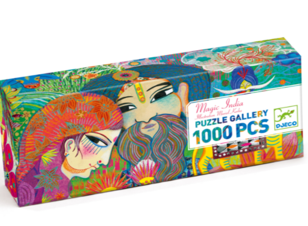 ​Djeco Magic India 1000 palan palapeli