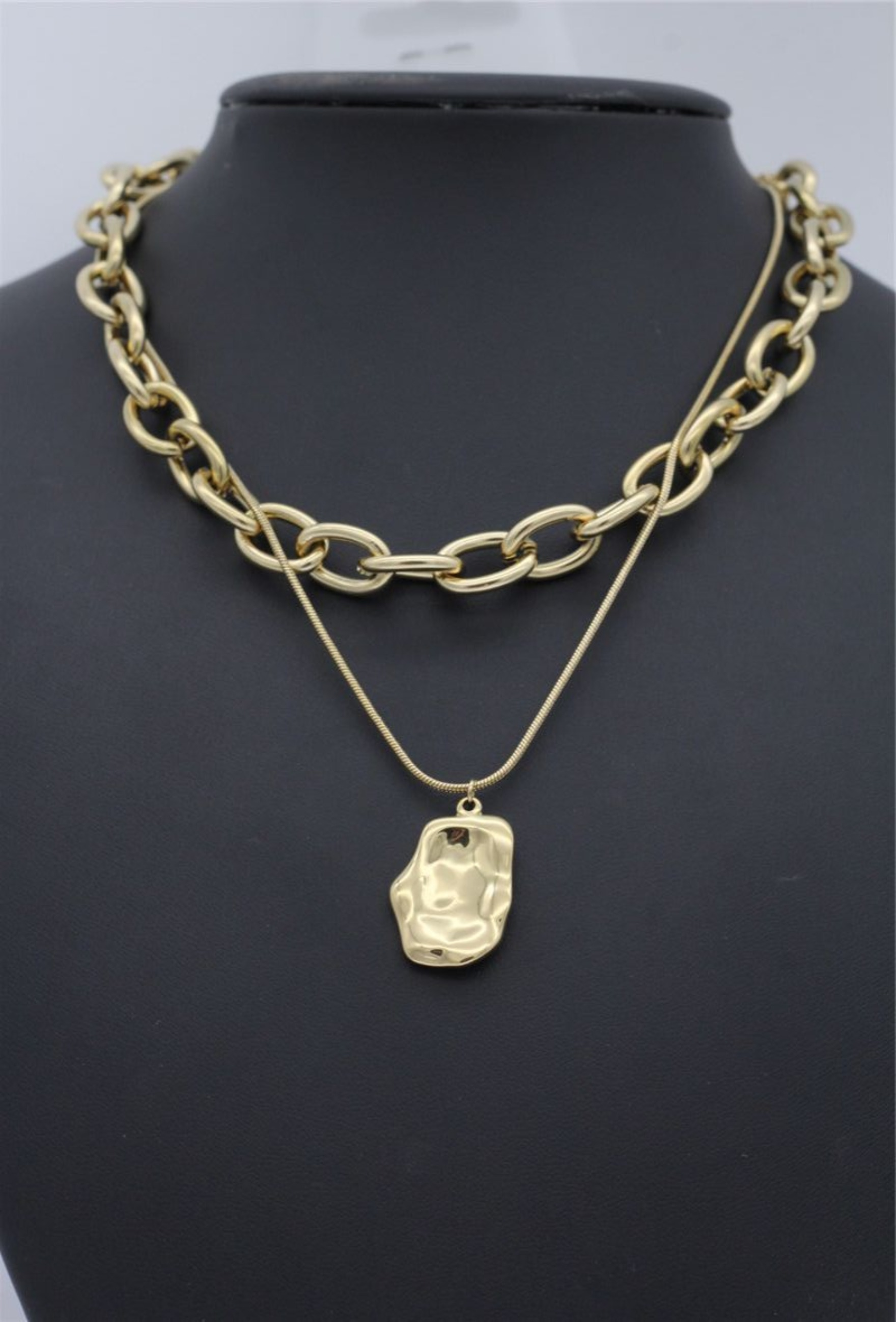 "Double Chunky Chain Kette ""Phoebe"""