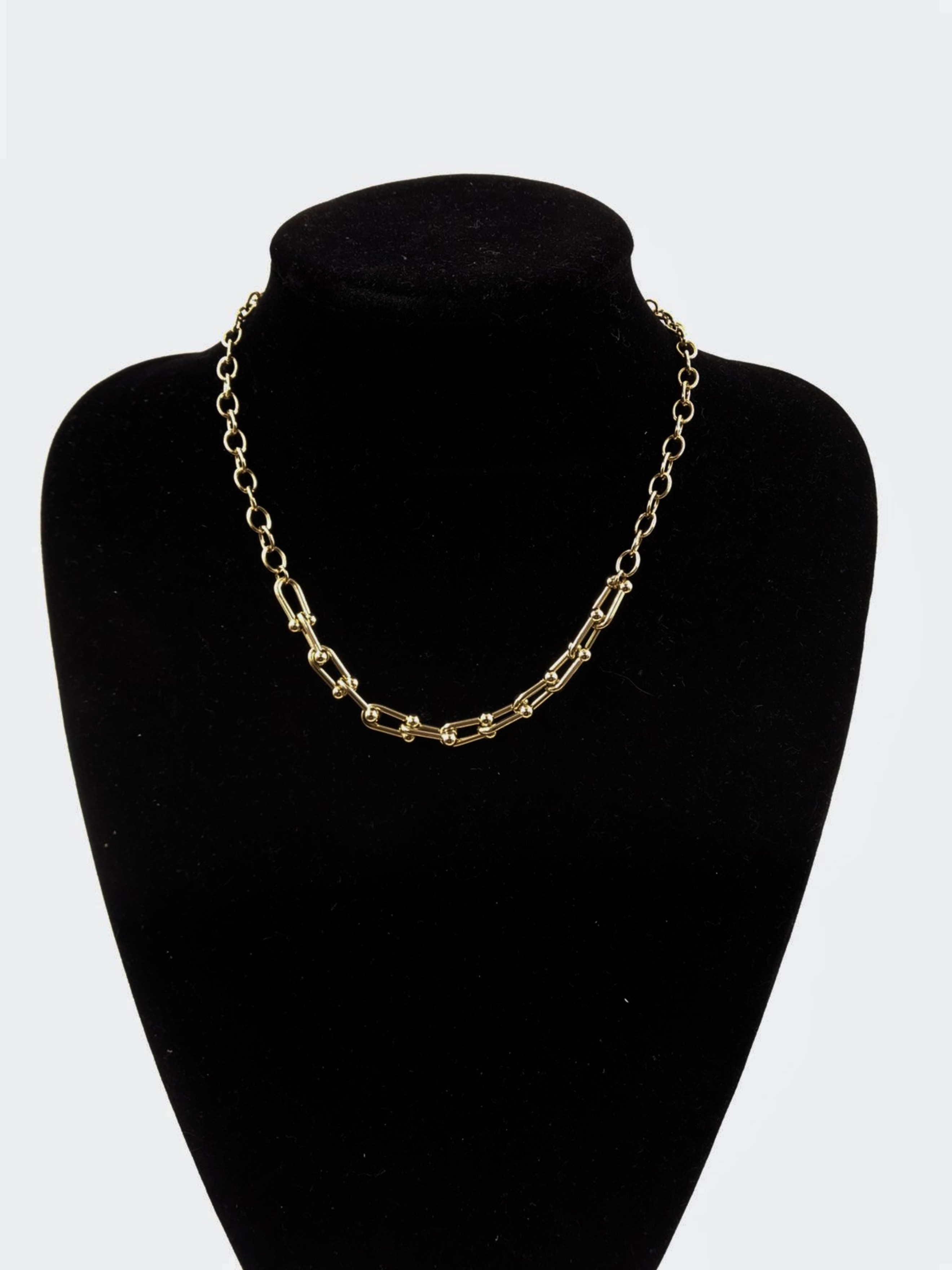 "Chunky Mix Chain Kette ""Audrey Link"""