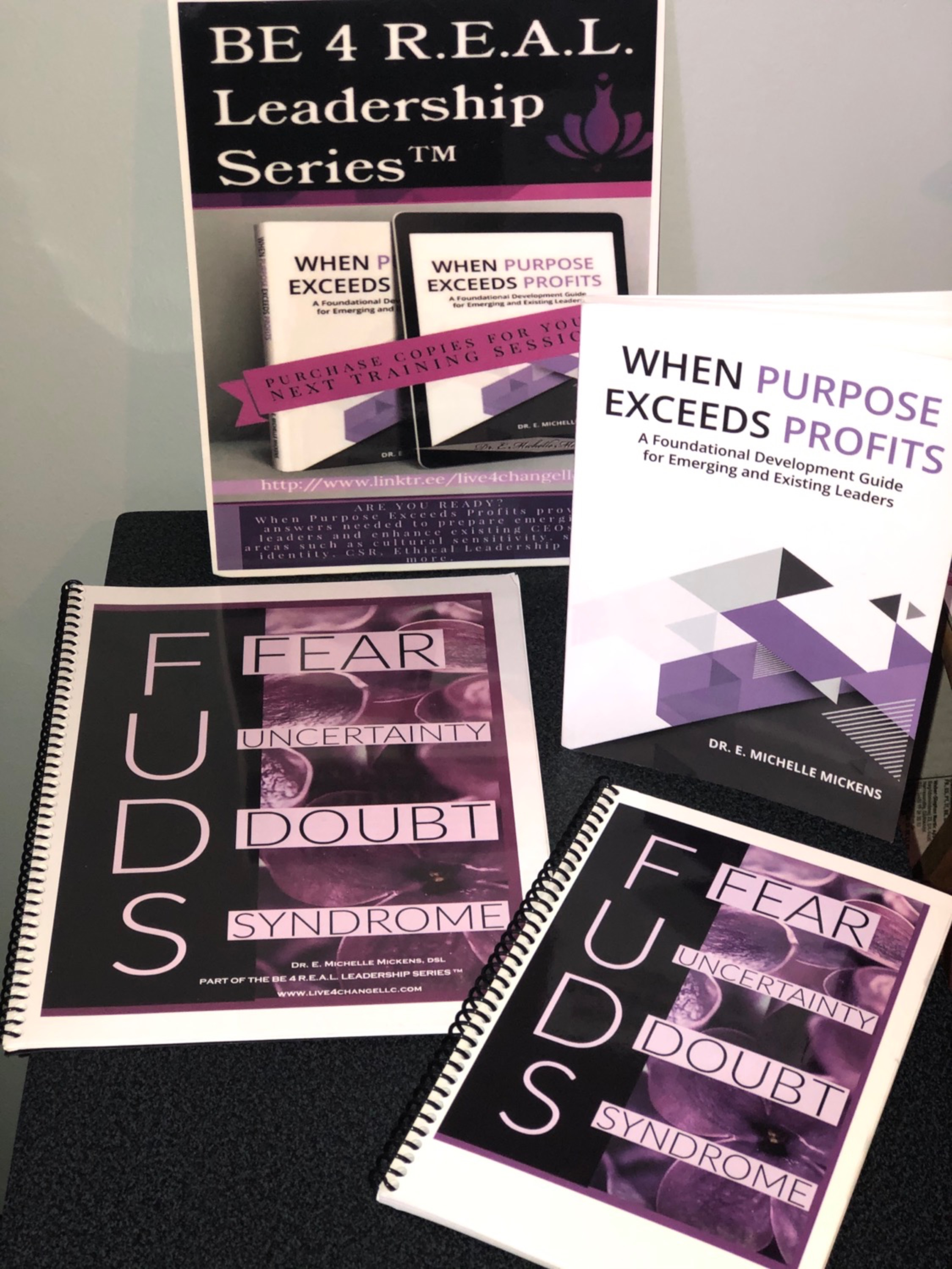 BUST THE F.U.D.S. (Fear, Uncertainty, & Doubt) SYNDROME