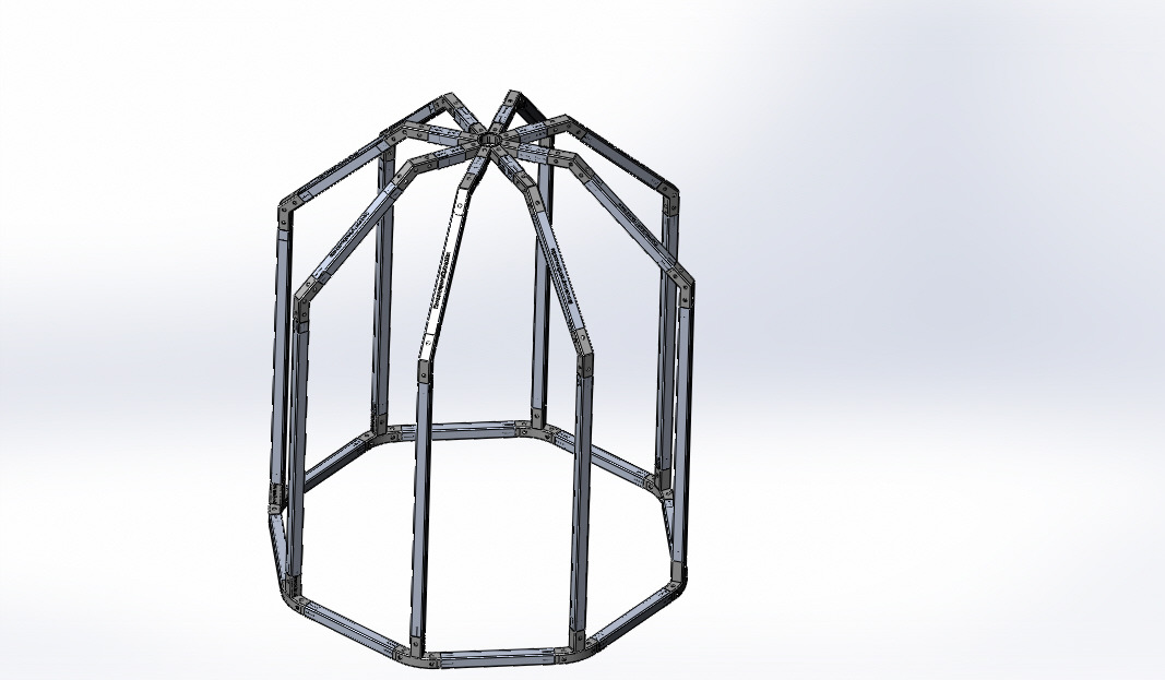 3d-printed greenhouse Smart greenhouse TYPE OCTAGON