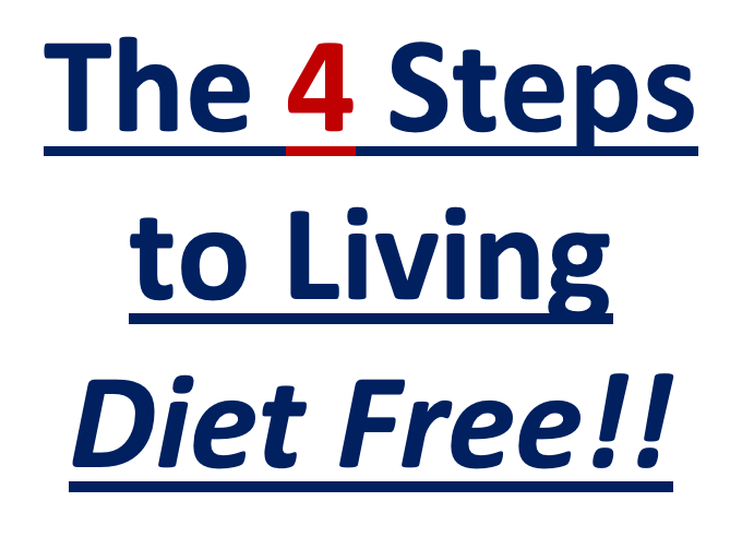 4 Steps to Diet Free Living