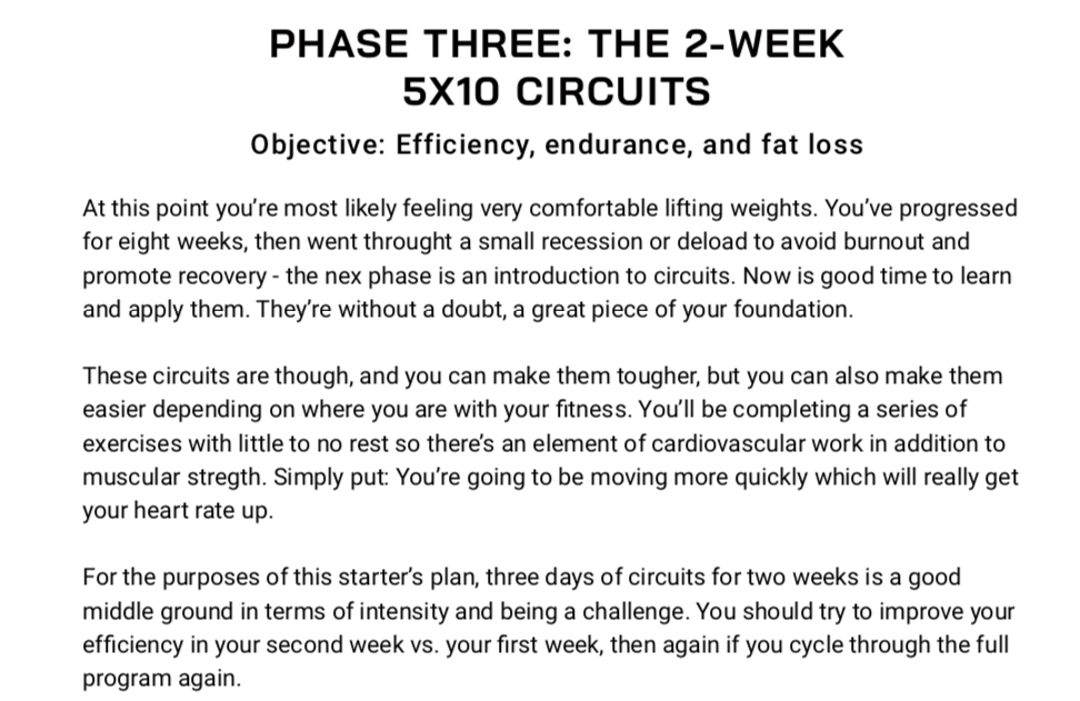 The 12-Week Accelerated Starter's Plan