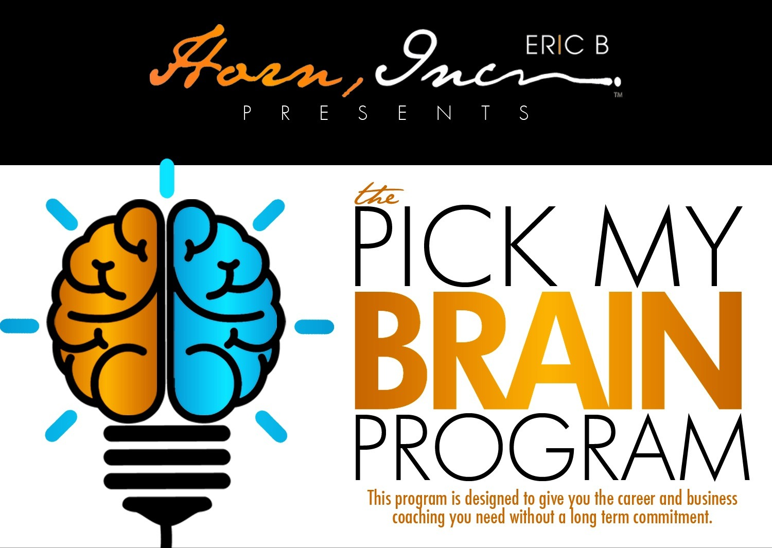 The Pick My Brain Coaching Session