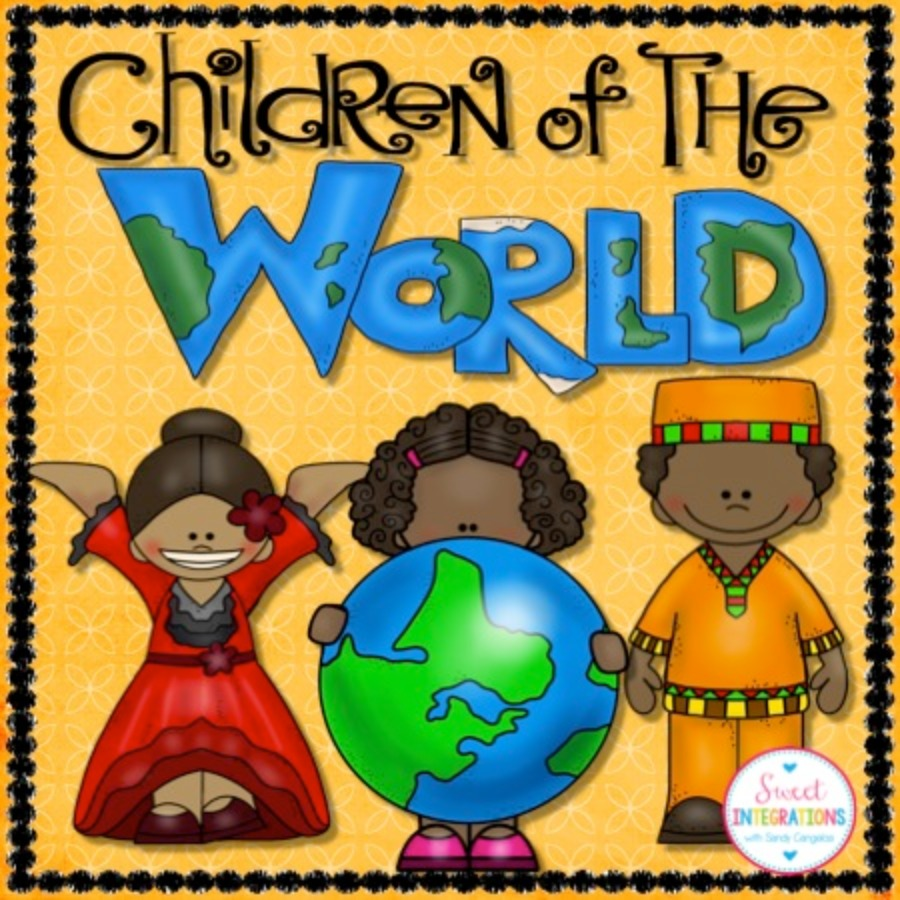 Children of the World and Country Research Scrapbook
