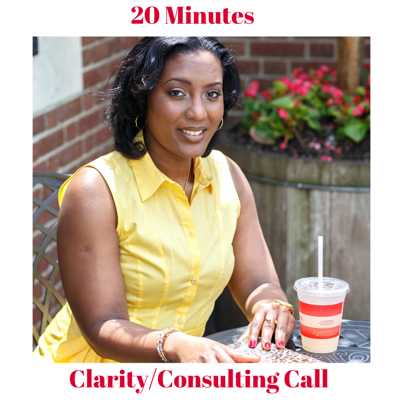 20 Min Clarity Consulting Call