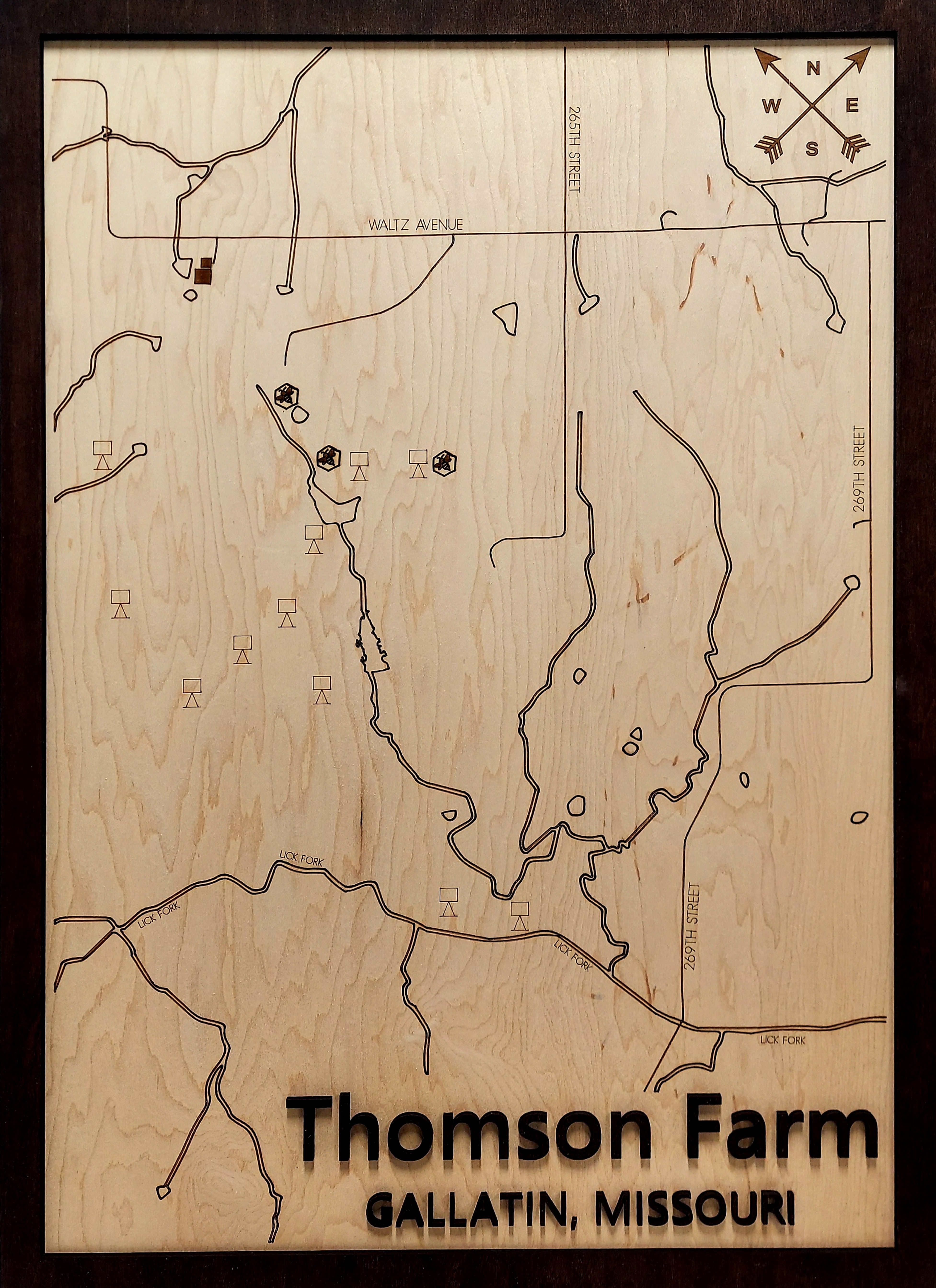 Farm-Hunting Land Wood Map