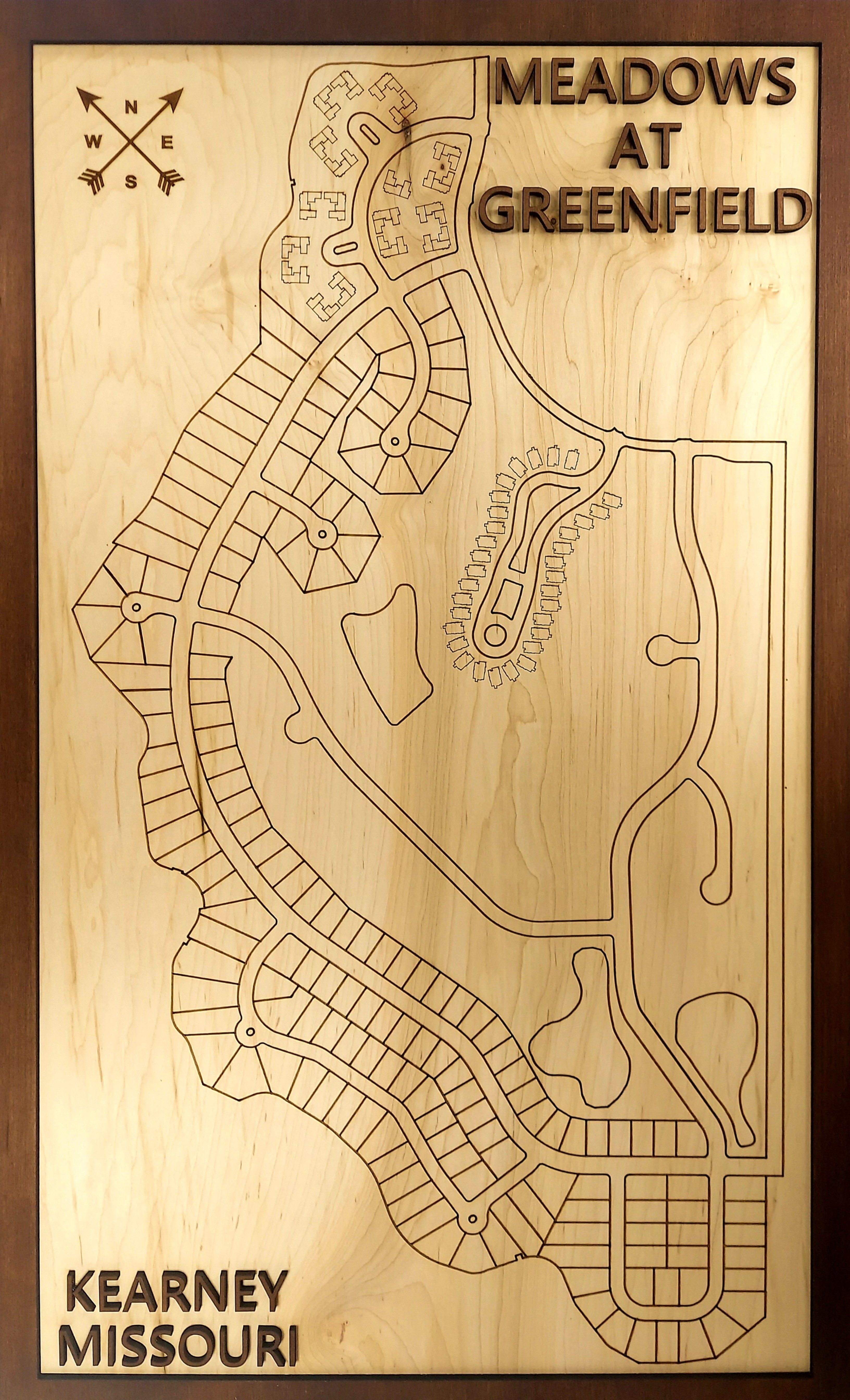 Residential Development Wood Map