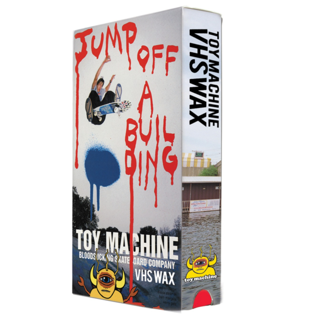 Toy Machine - Jump Off a Building - VHS Wax