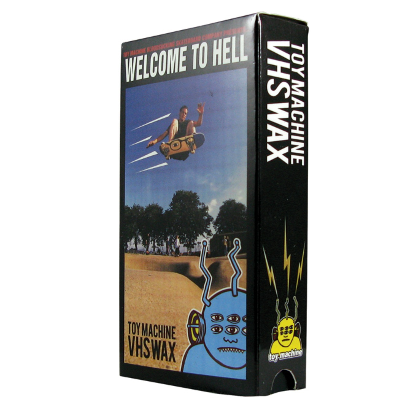 Toy Machine - Welcome to Hell - VHS Wax
