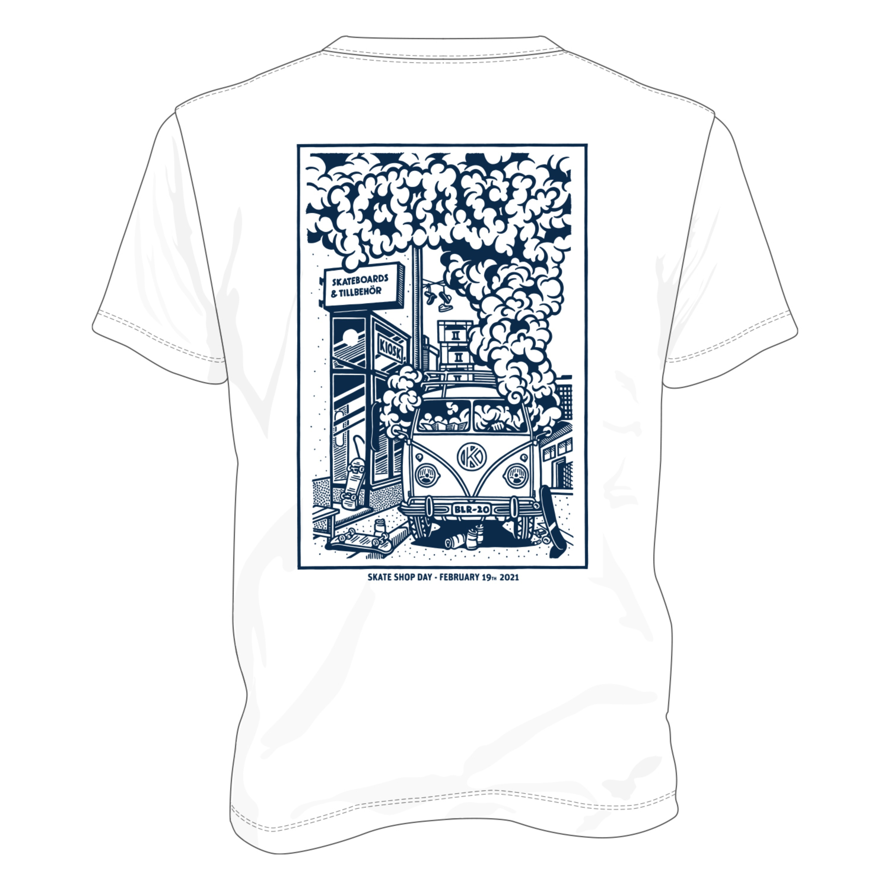 Kiosk - Limited Edition - Skate Shop Day Tee