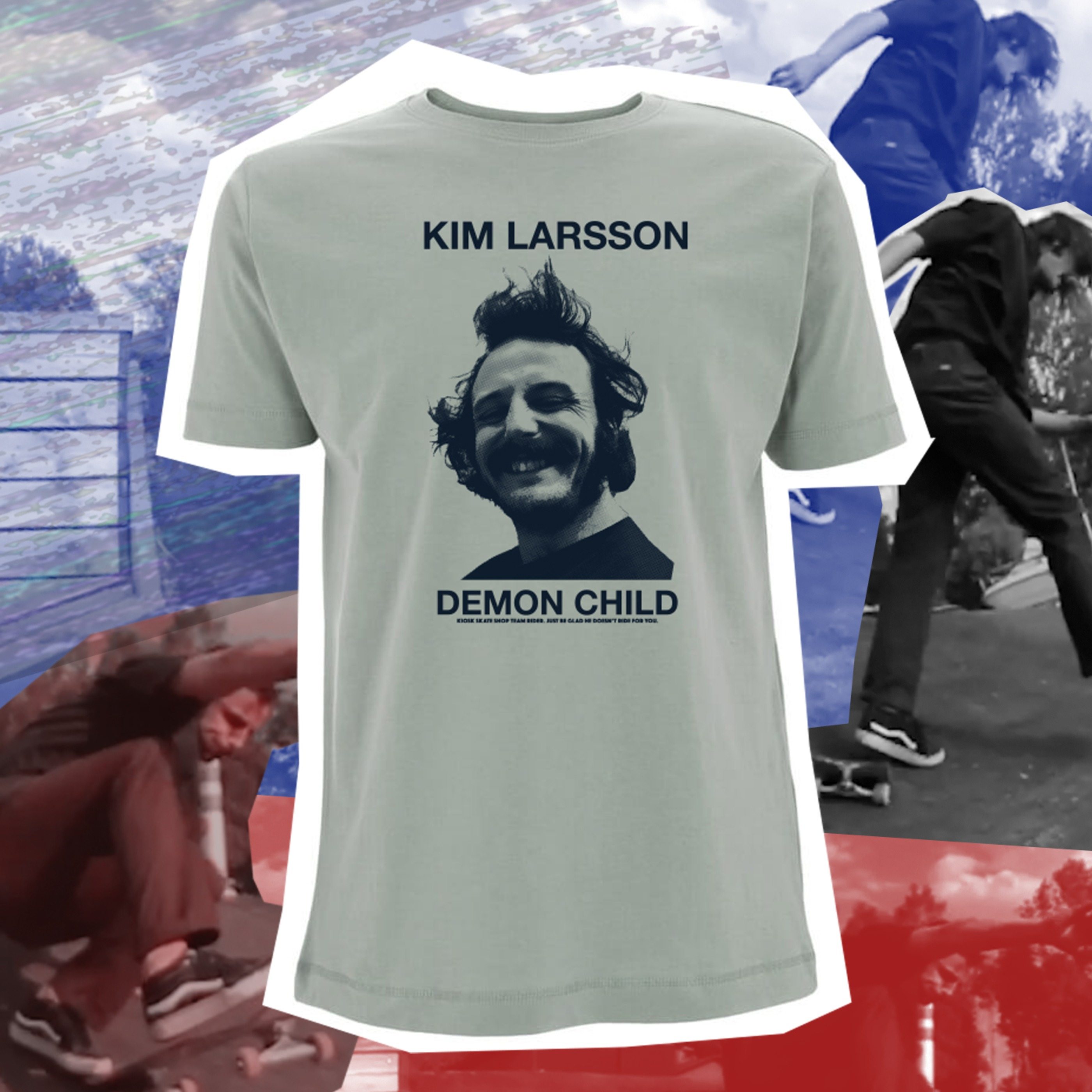 Kiosk Team Rider - Kim Larsson Demon Child - Sports Gray