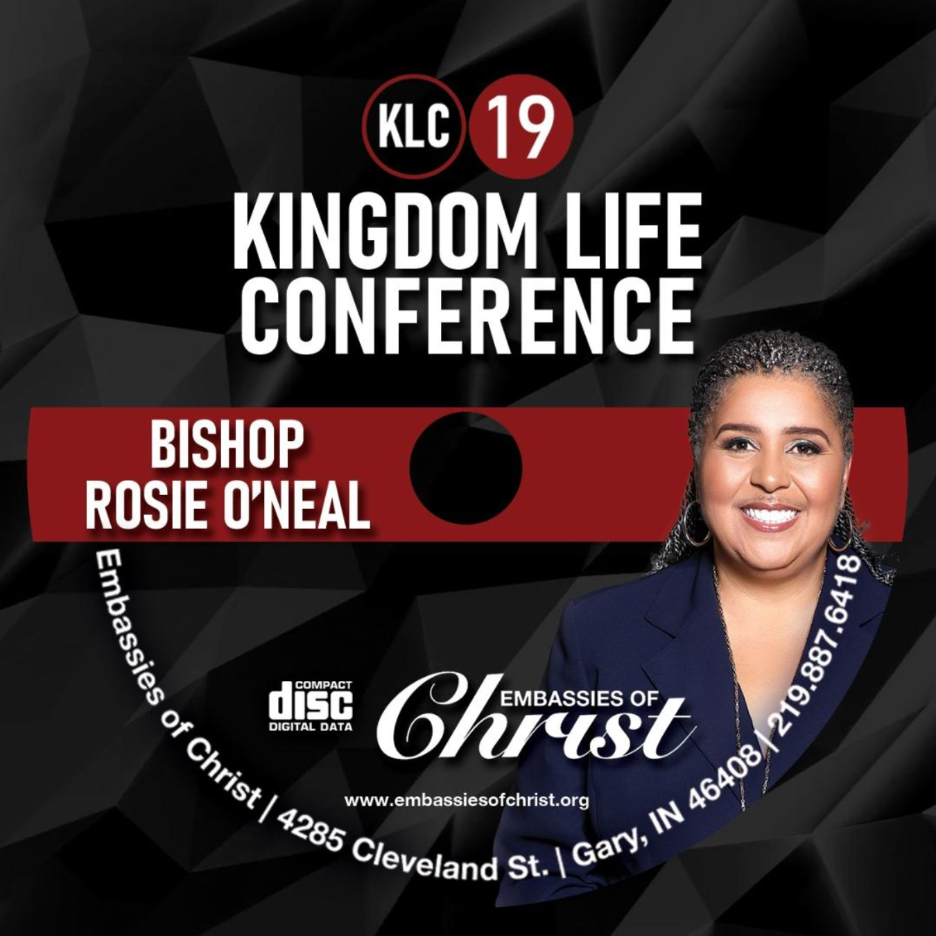 Bishop Rosie O'Neal Audio (MP3)