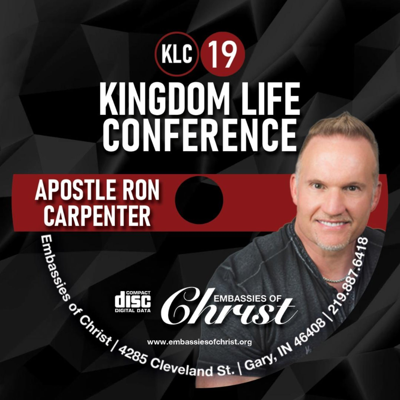 Apostle Ron Carpenter Audio (MP3)