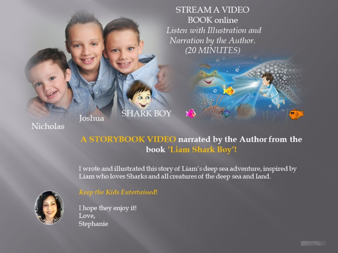 STORYBOOK VIDEO (20 Minutes) Kids Love It! Download Now.  FREE till 15th June, 2020