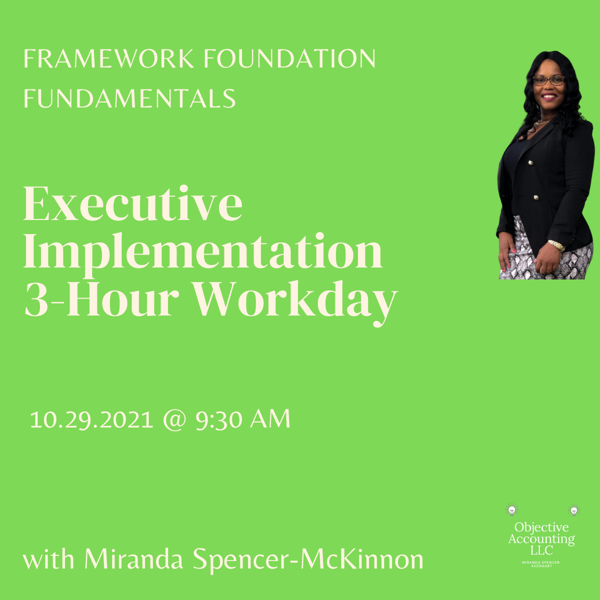 Executive Implementation Workday 10.29.2021