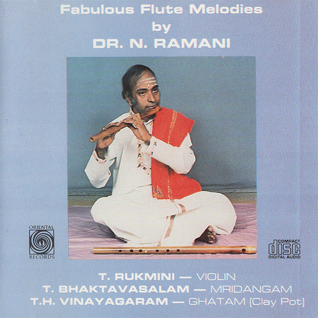 Fabulous Flute Melodies By Dr.N.Ramani