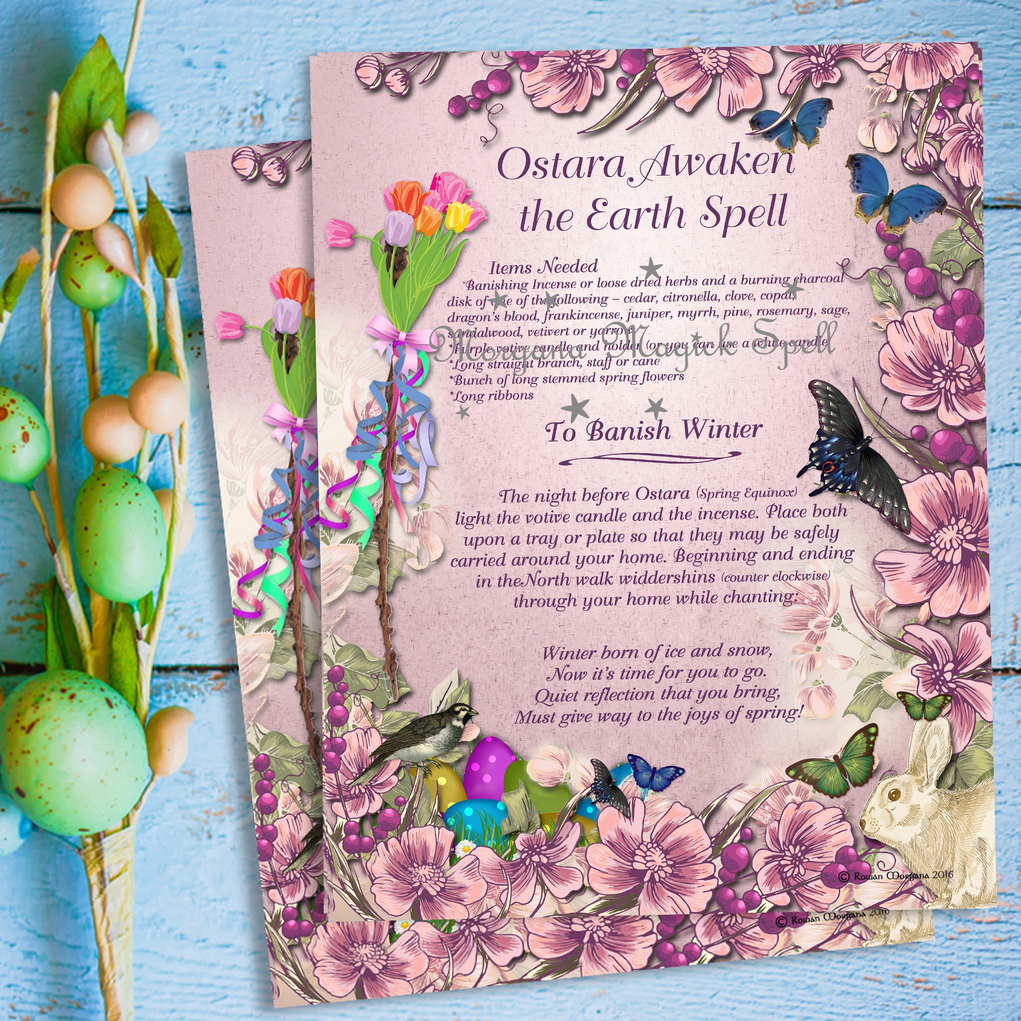 OSTARA  AWAKEN the EARTH SPELL