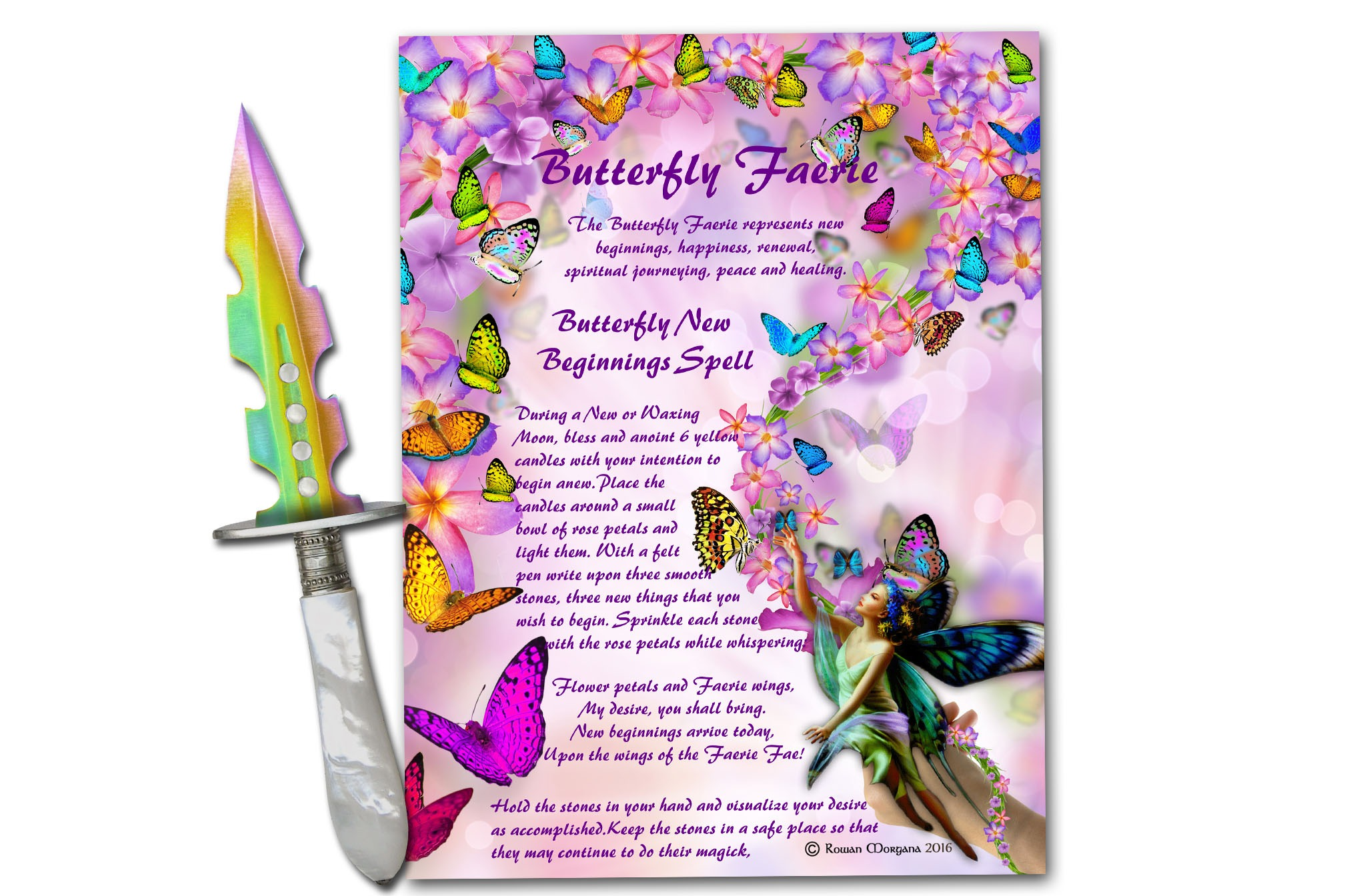BUTTERFLY FAERIE Realm of the Fey Lore