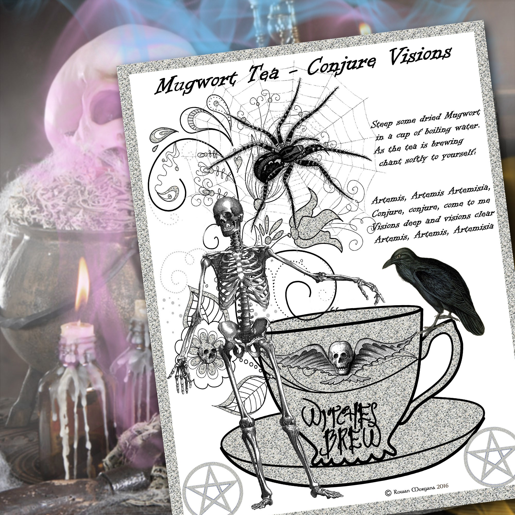 MUGWORT TEA Recipe