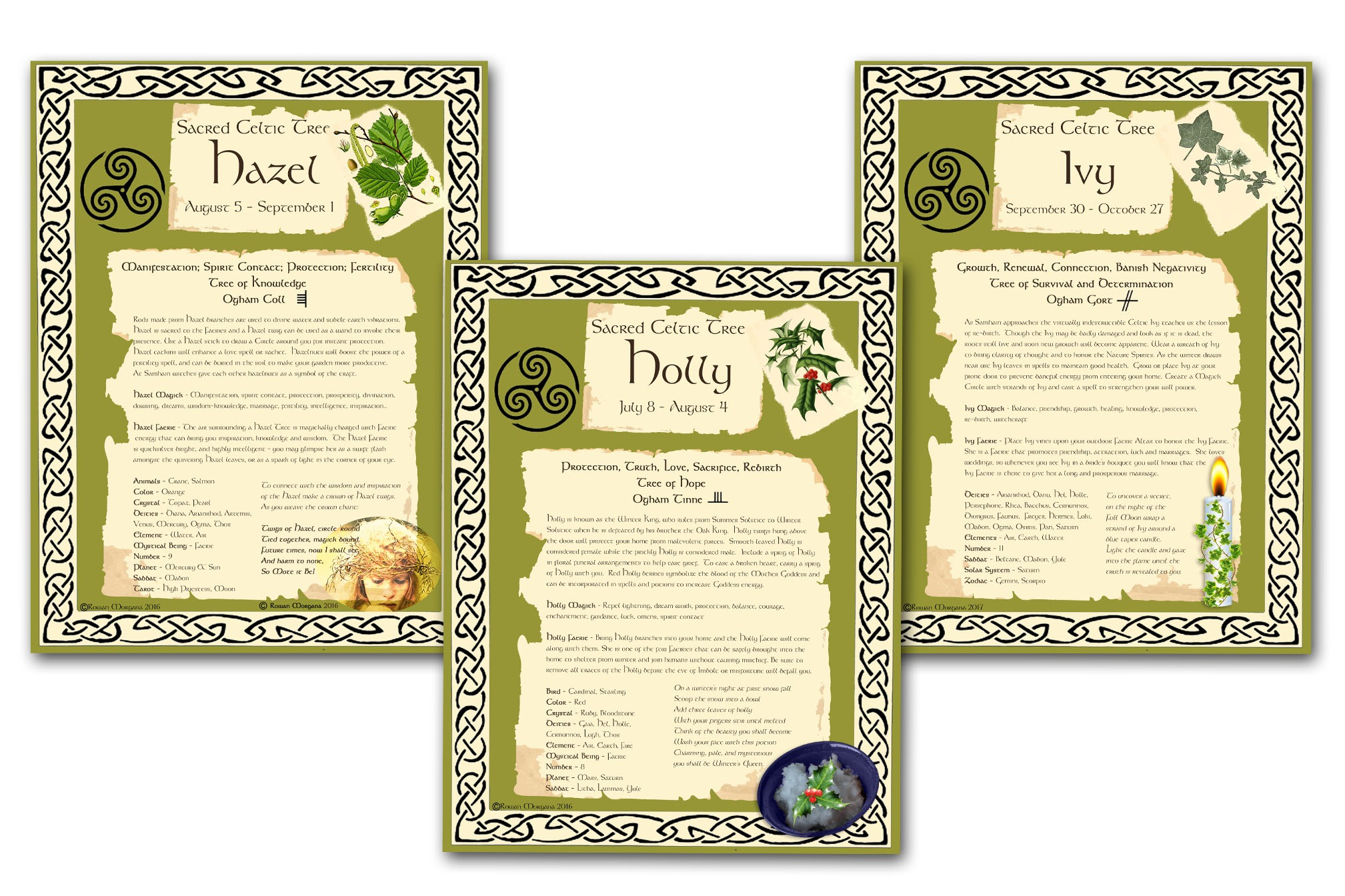 CELTIC TREES *All 15 Pages*