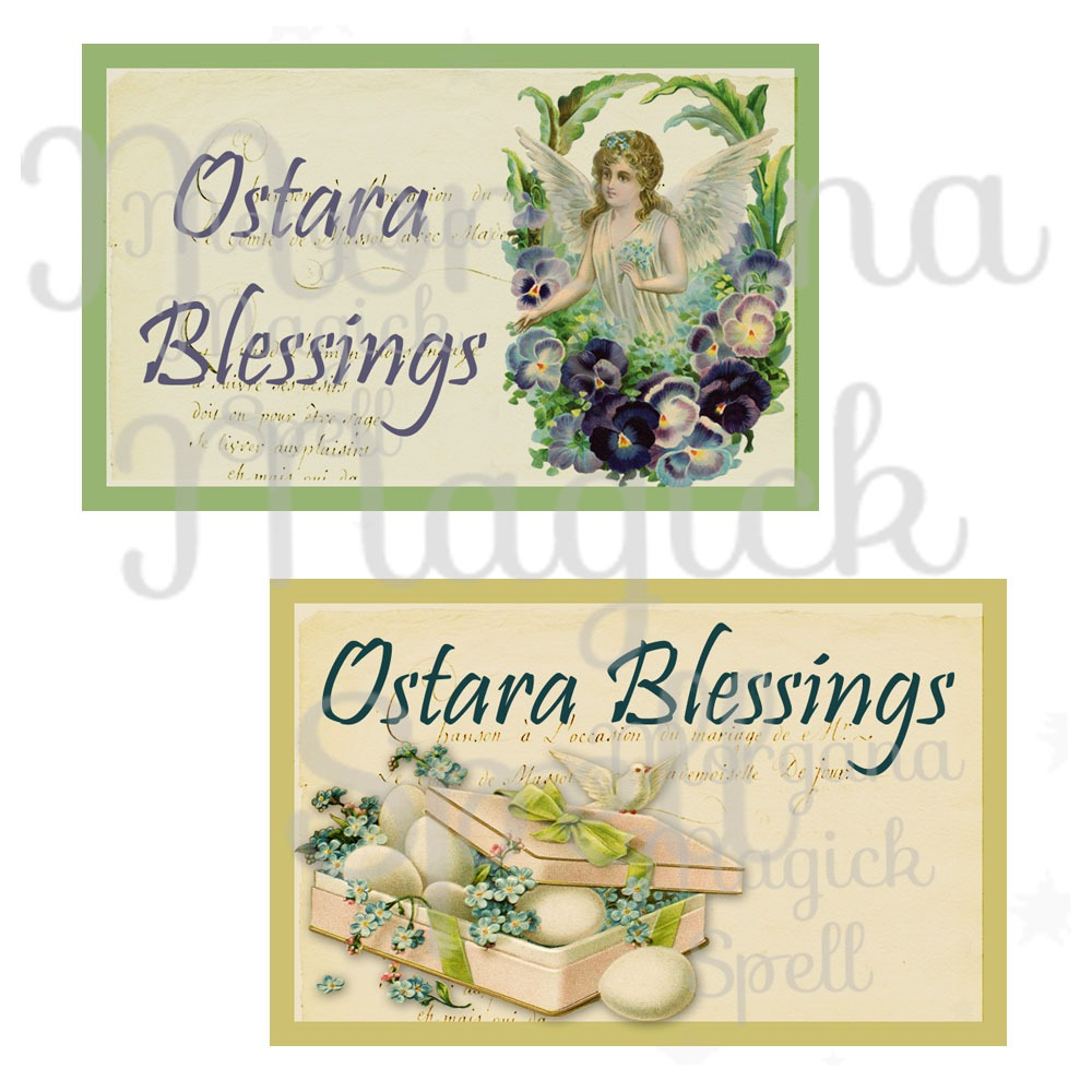 OSTARA BLESSINGS LABELS