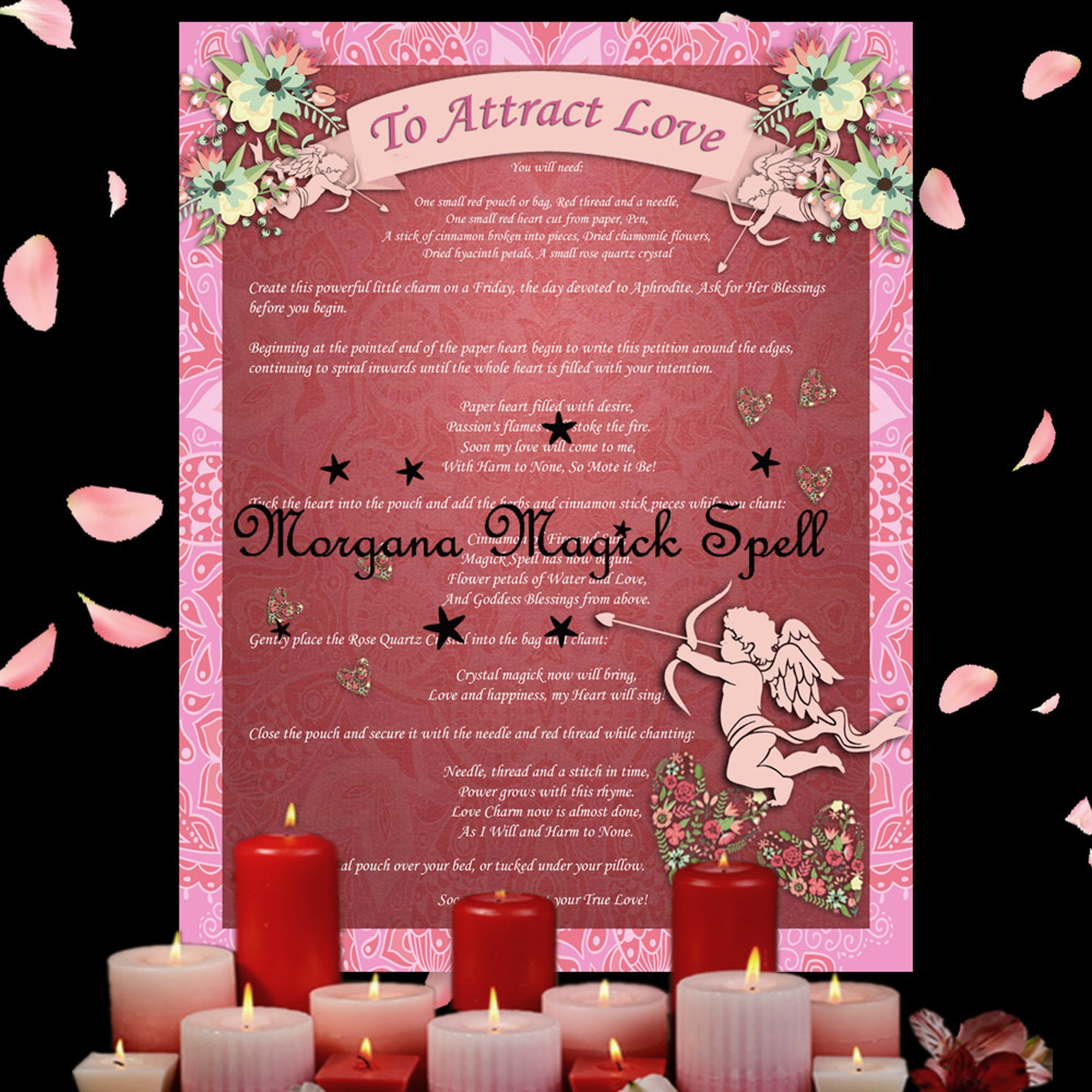 ATTRACT LOVE CHARM  Spell