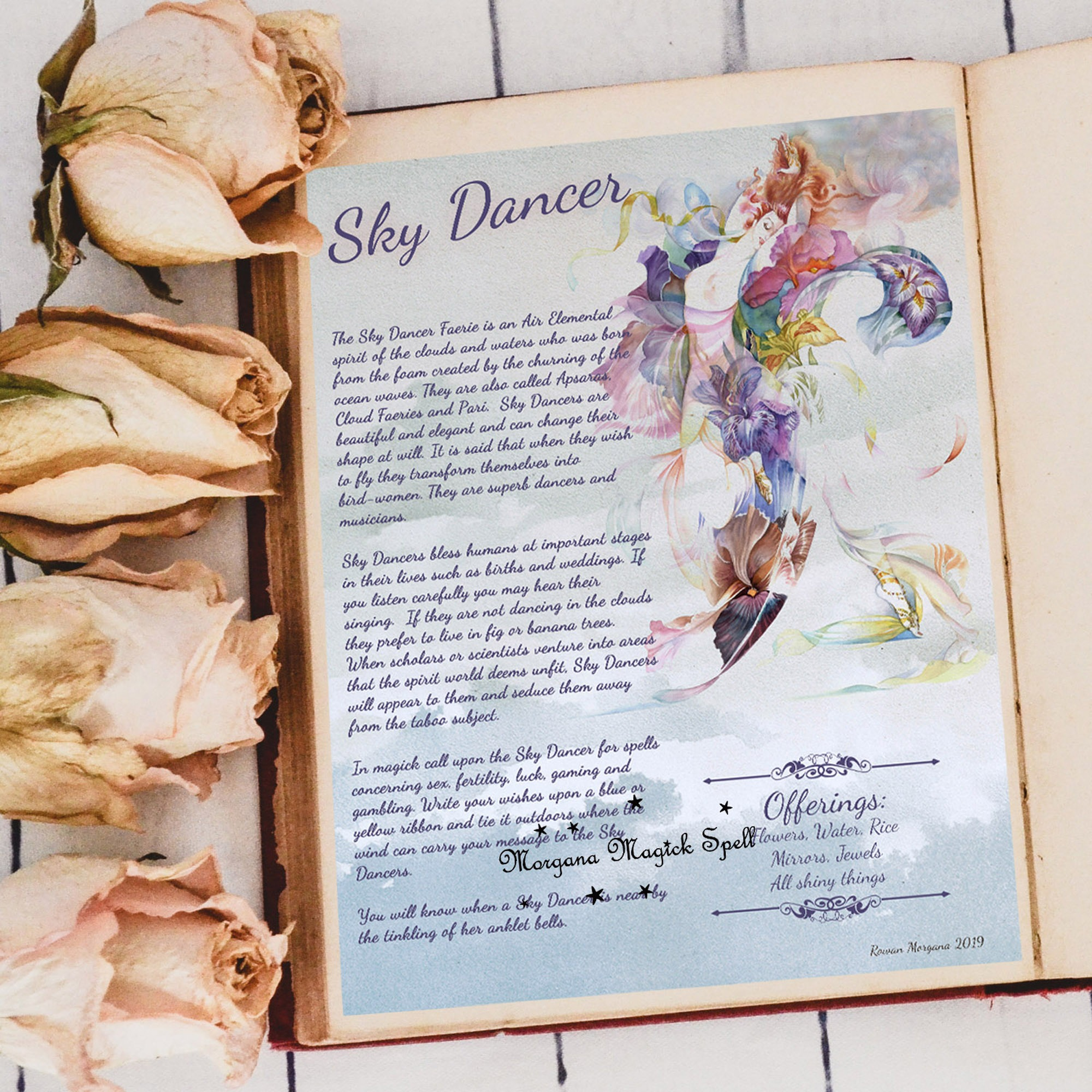 SKY DANCER  Realm of the Fey Lore