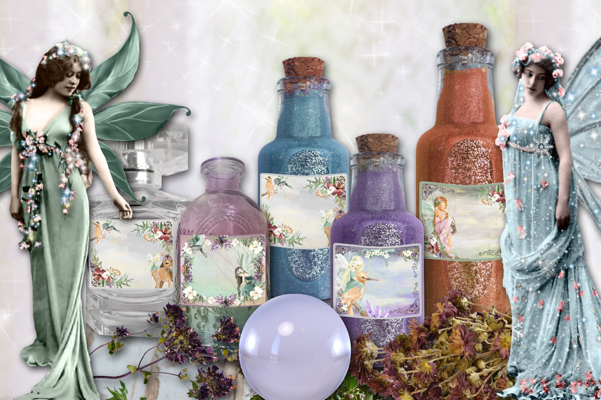 FAERIE APOTHECARY LABELS