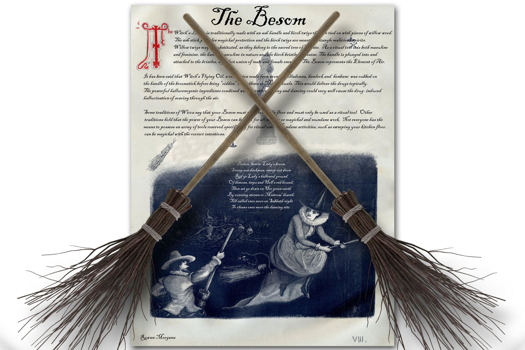 THE WITCH'S BESOM
