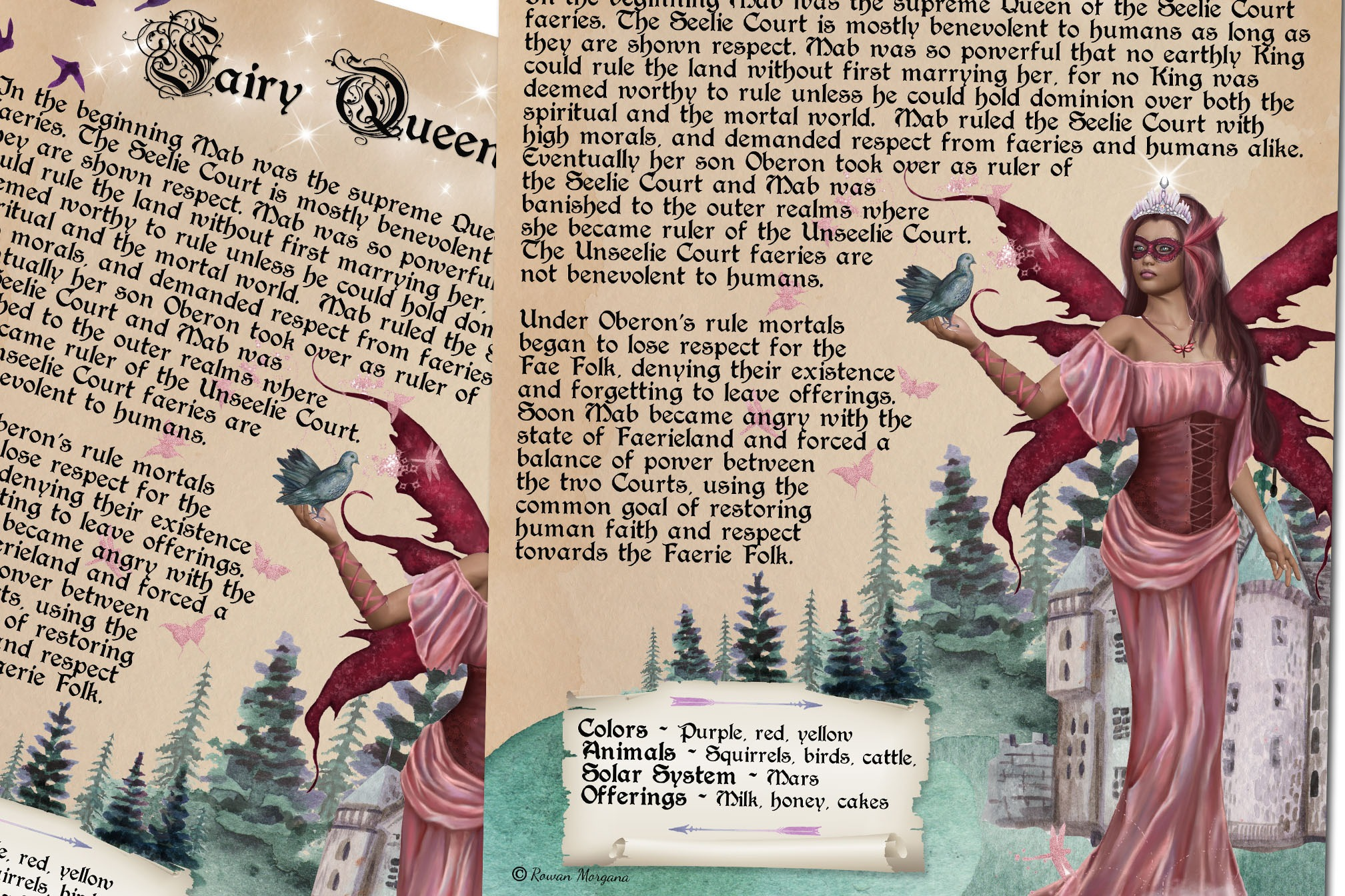 MAB the FAERIE QUEEN Faery Realm