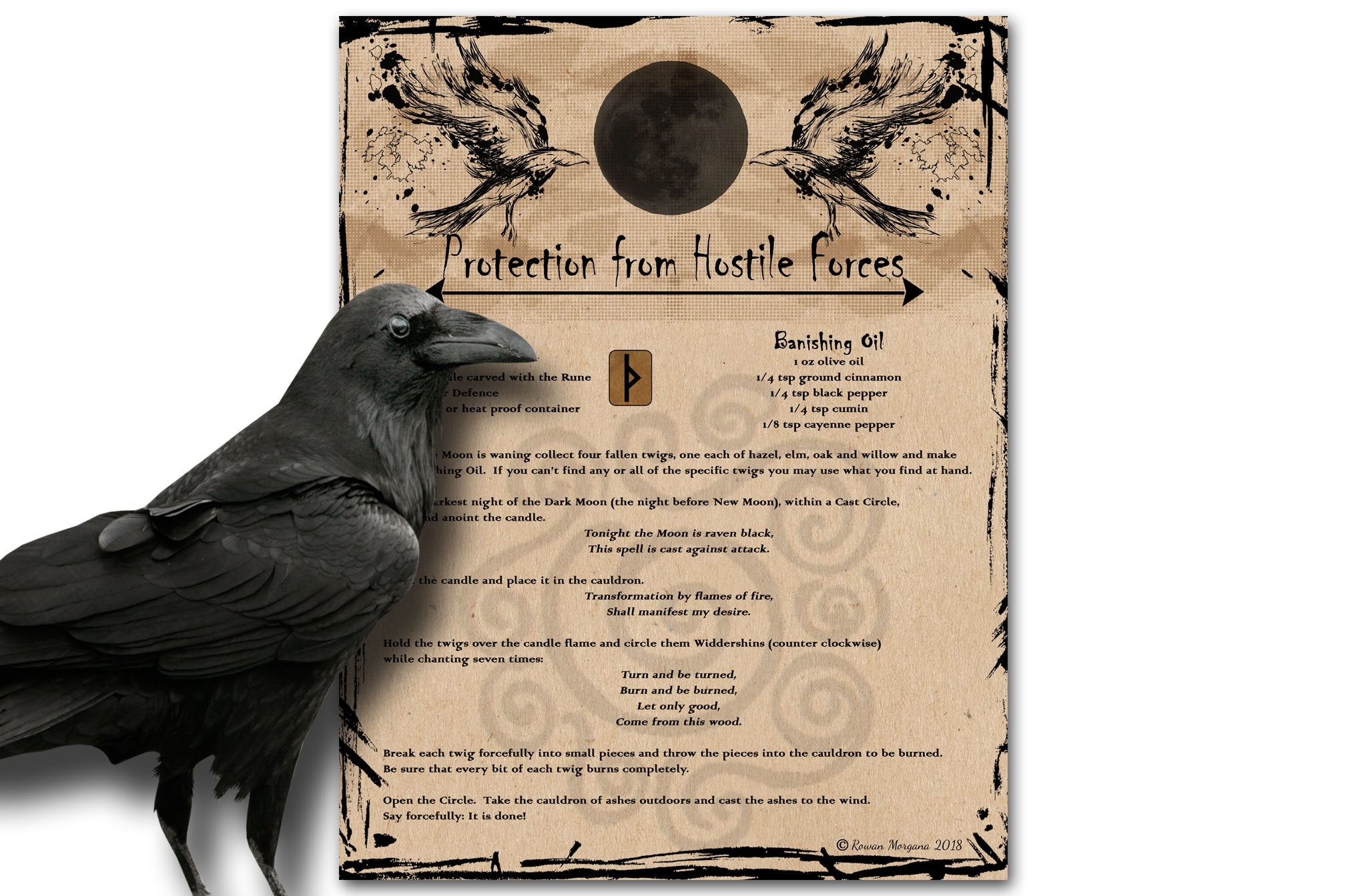 PROTECTION from HOSTILE FORCES  SPELL