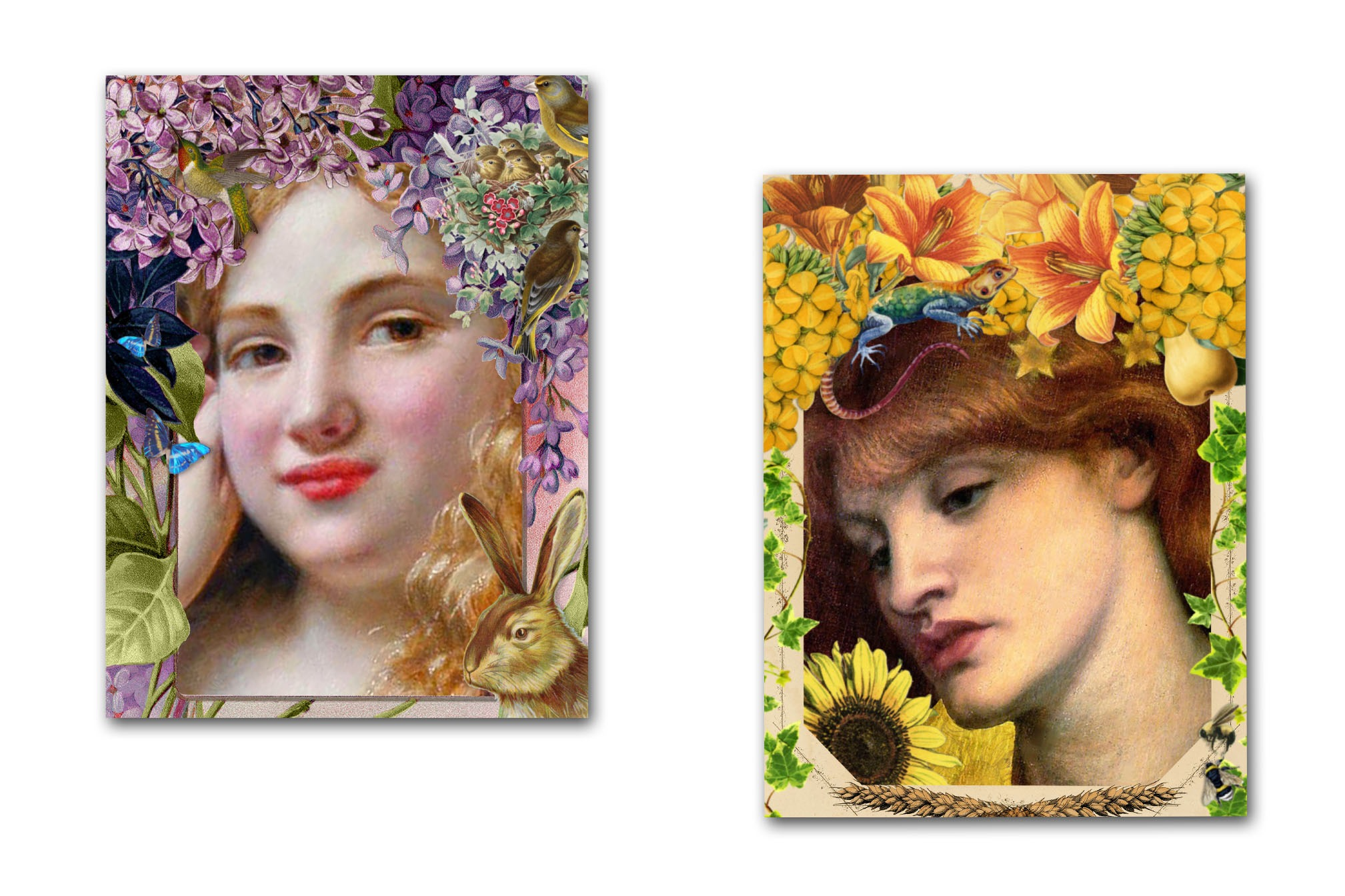 GODDESS ALTAR CARDS -  Four Seasons