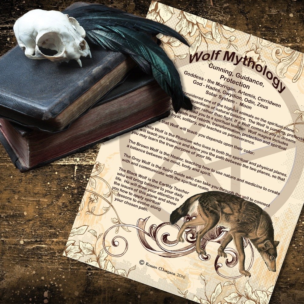 WOLF MYTHS and CORRESPONDENCES