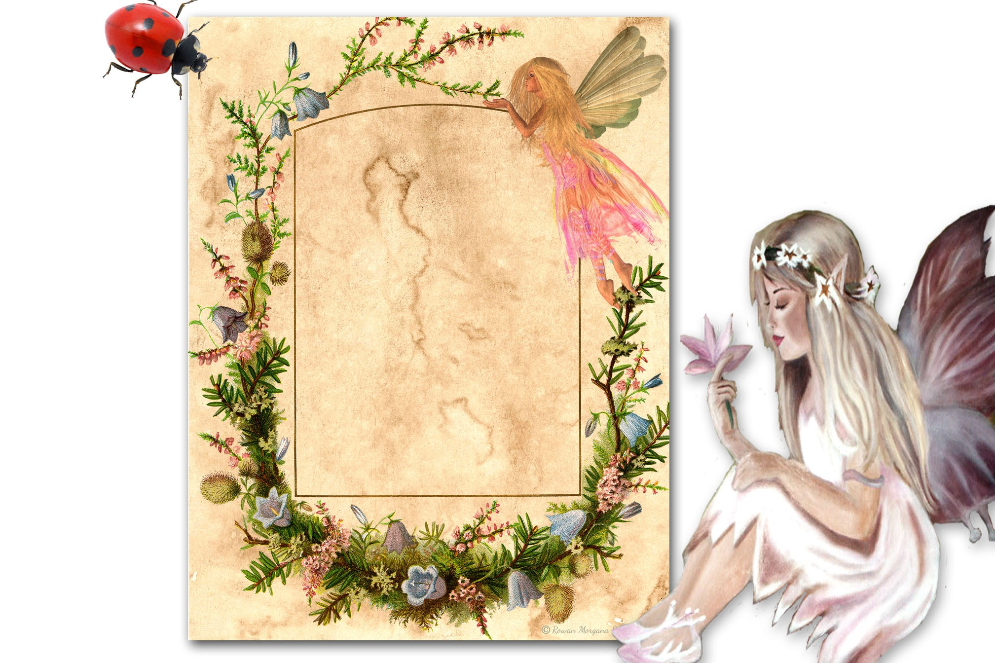 FAERIE  Page for Book of Shadows