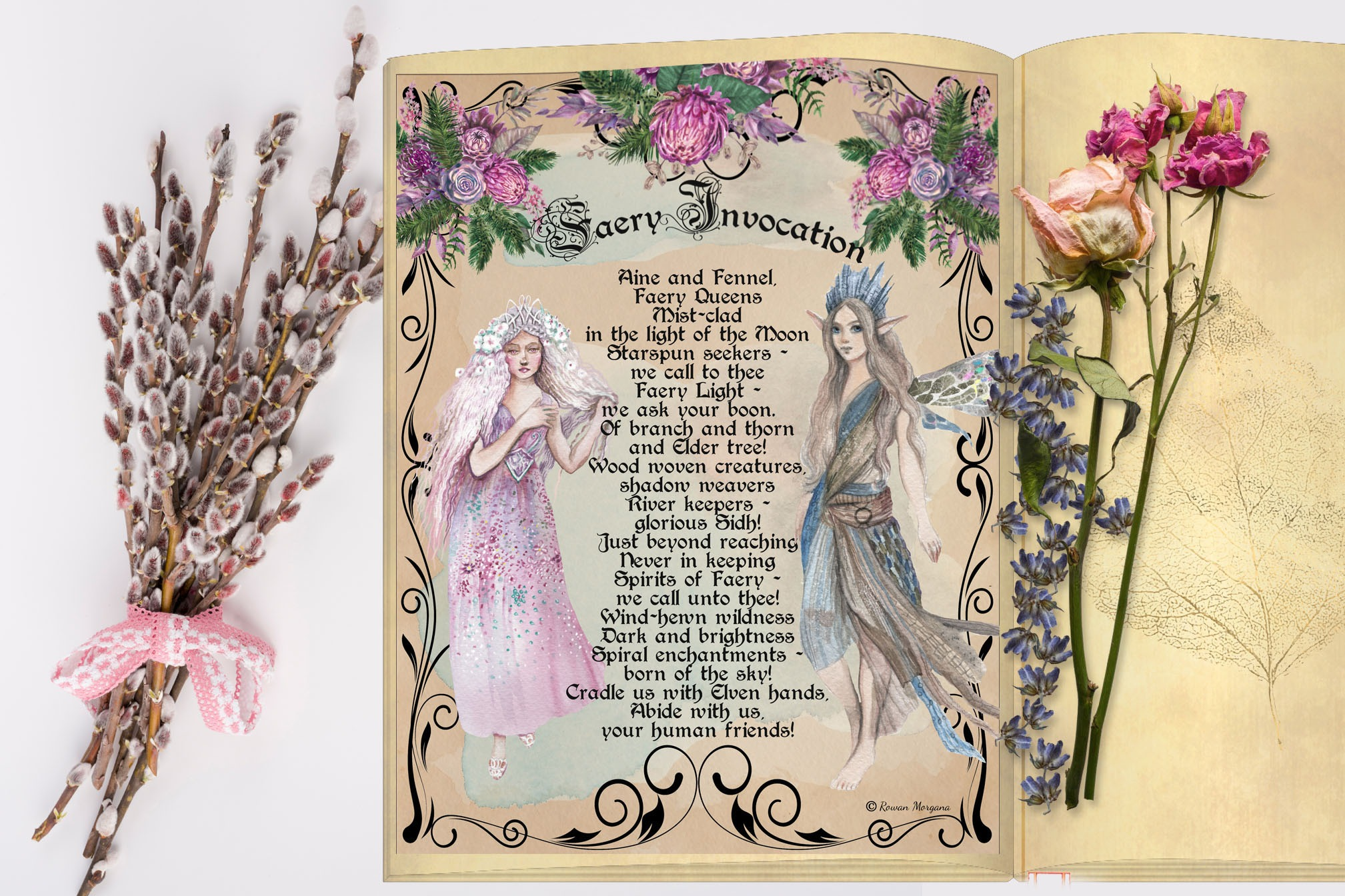 FAERY INVOCATION  - Realm of the Fey