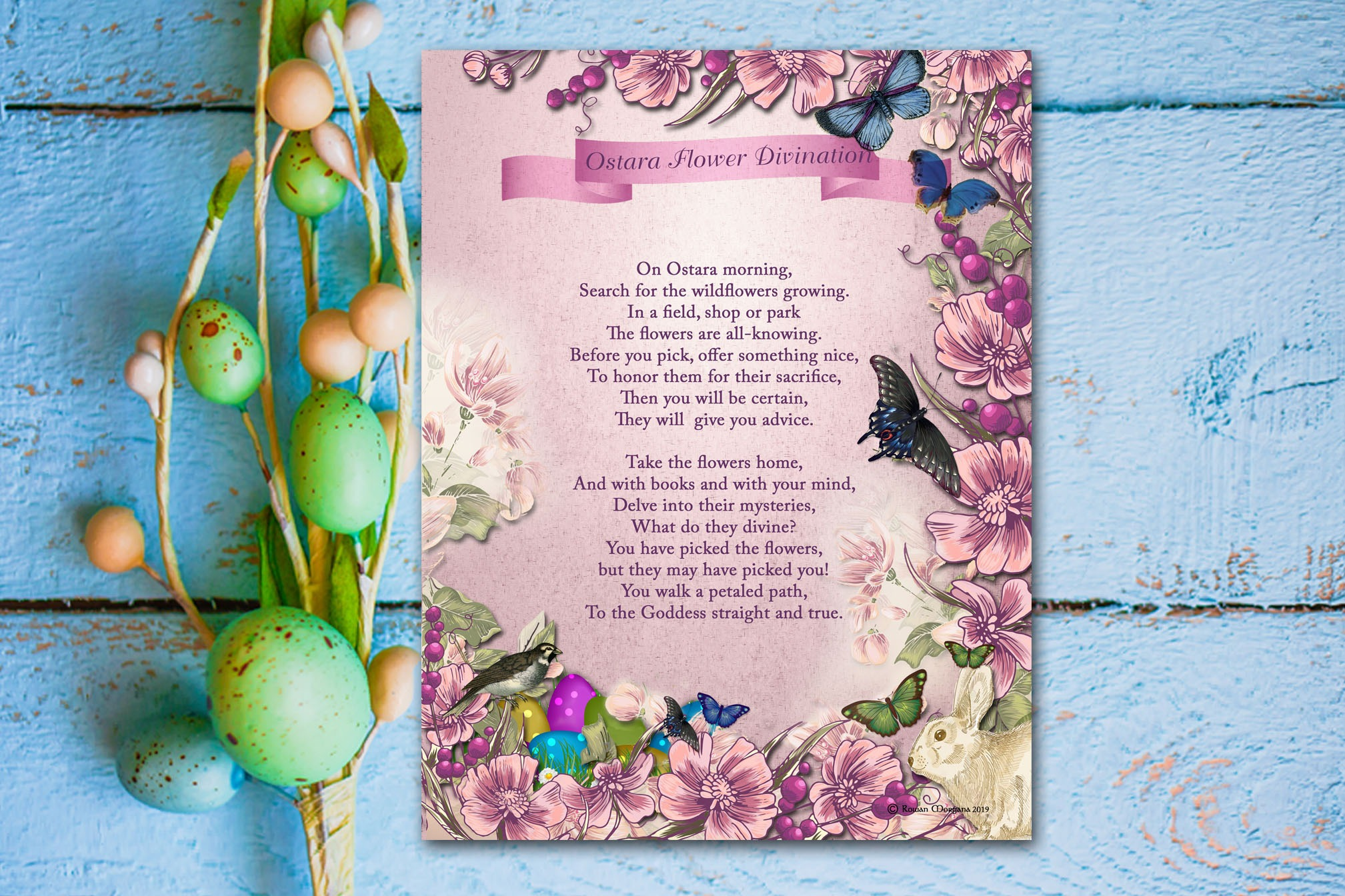 OSTARA FLOWER DIVINATION