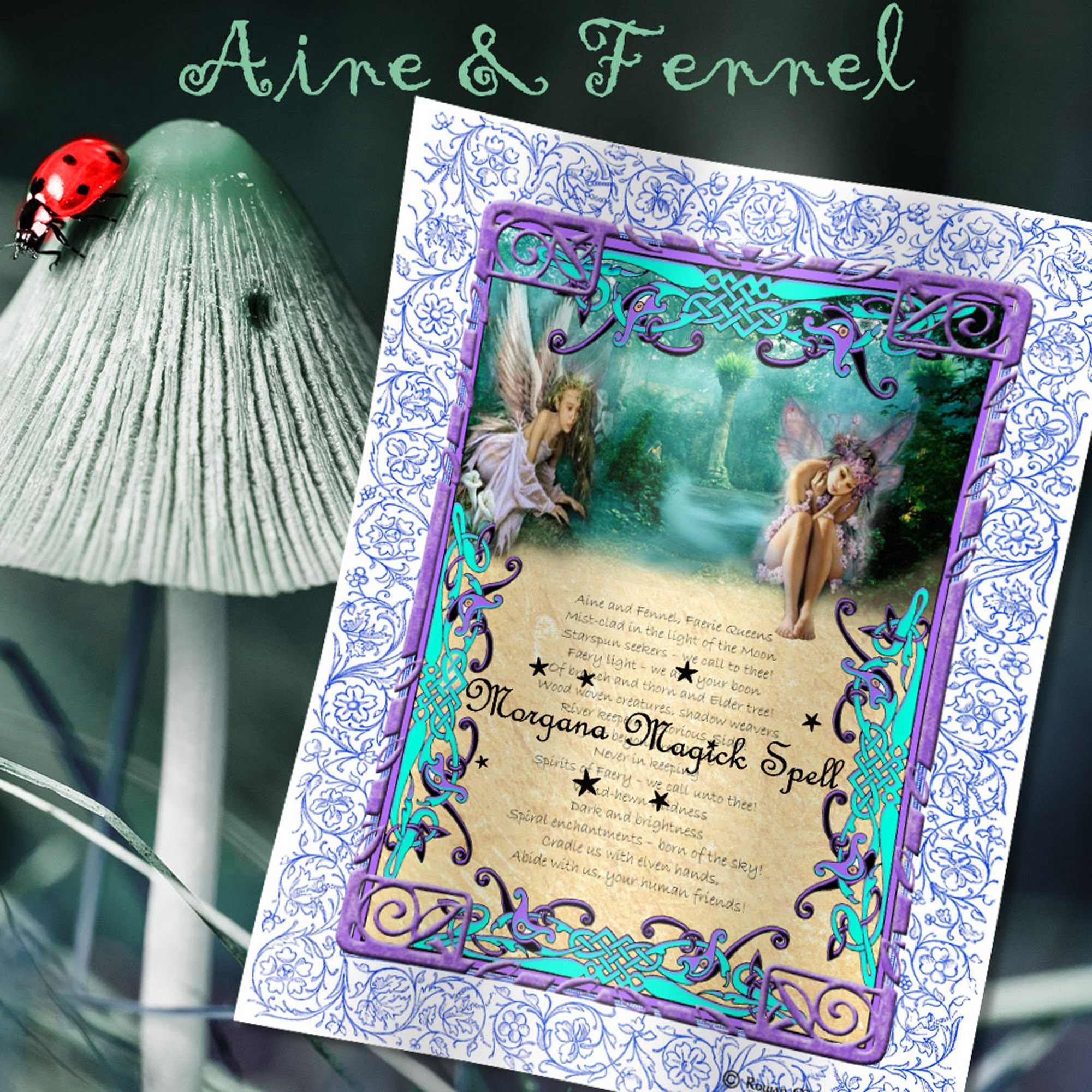 AINE & FENNEL INVOCATION  - Realm of the Fey Lore