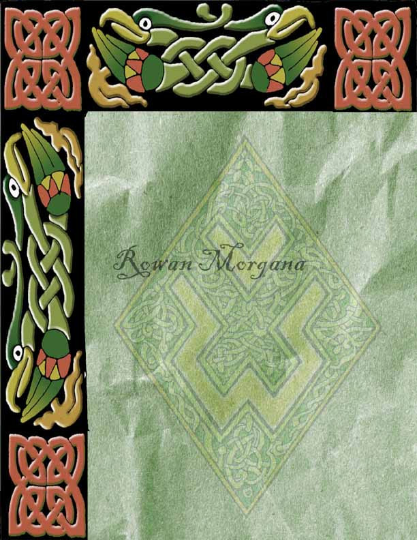CELTIC KNOT ANIMALS 3 Blank  Pages