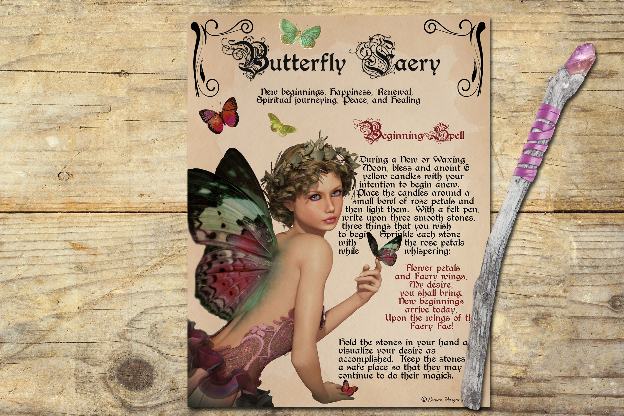 BUTTERFLY FAERIE Realm of the Fey
