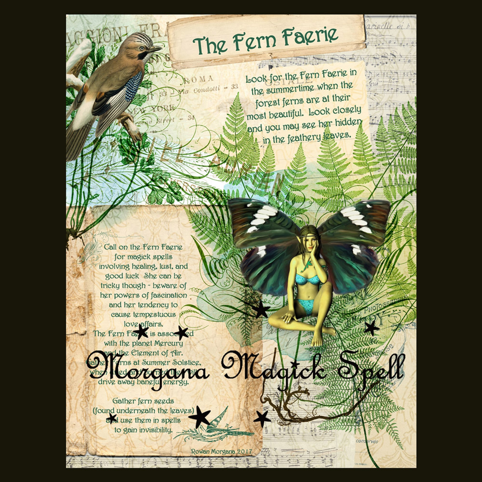 The FERN FAERIE Realm of the Fey Lore