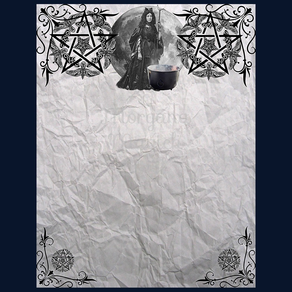 OLD WITCHES  3 BLANK PAGES